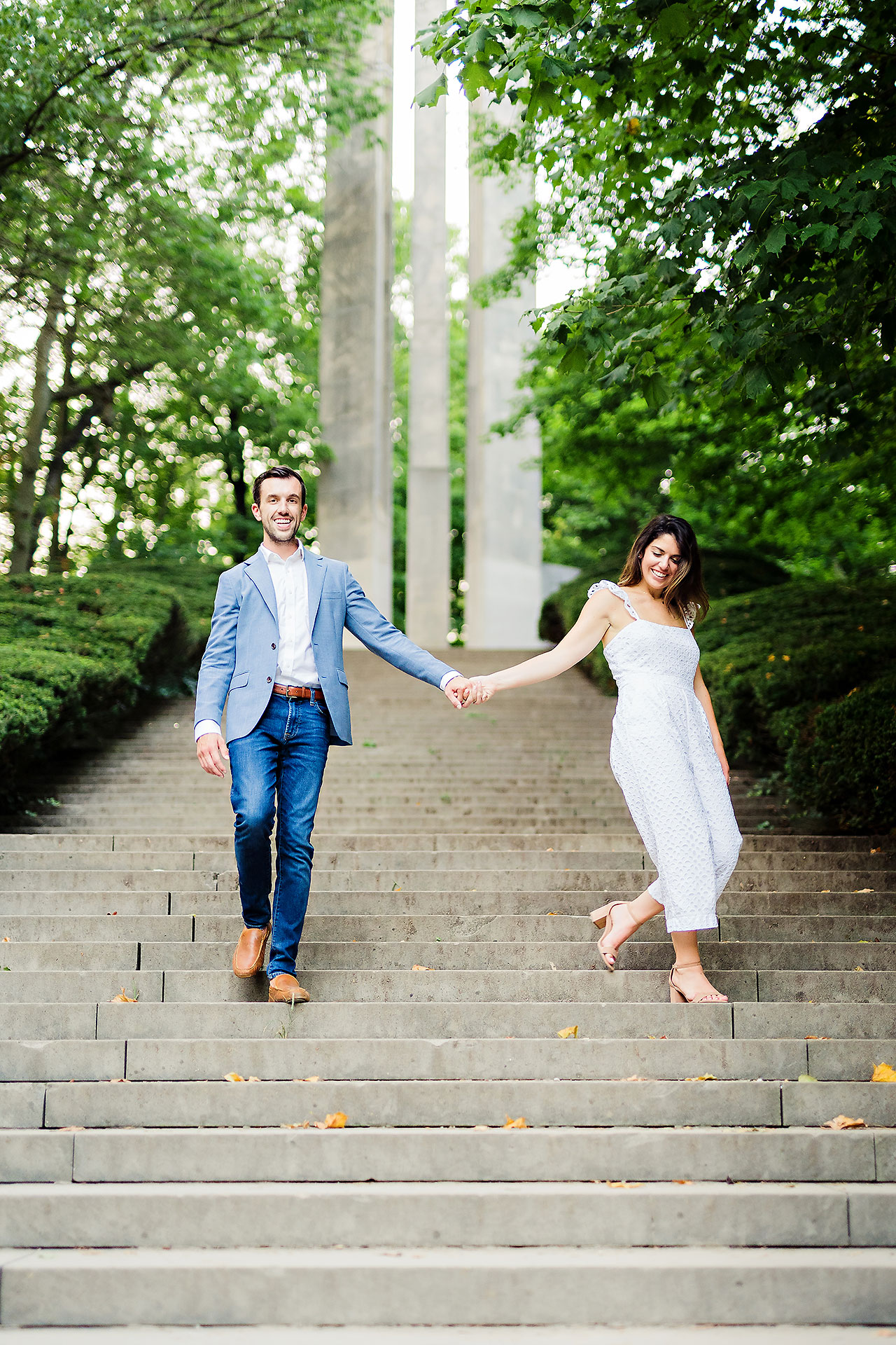 Kate Sawyer Holcomb Gardens Engagement Session 101