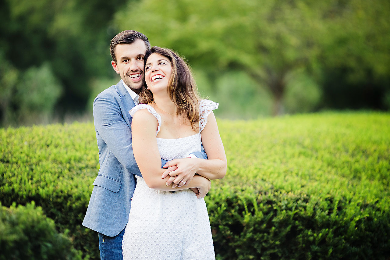 Kate Sawyer Holcomb Gardens Engagement Session 097