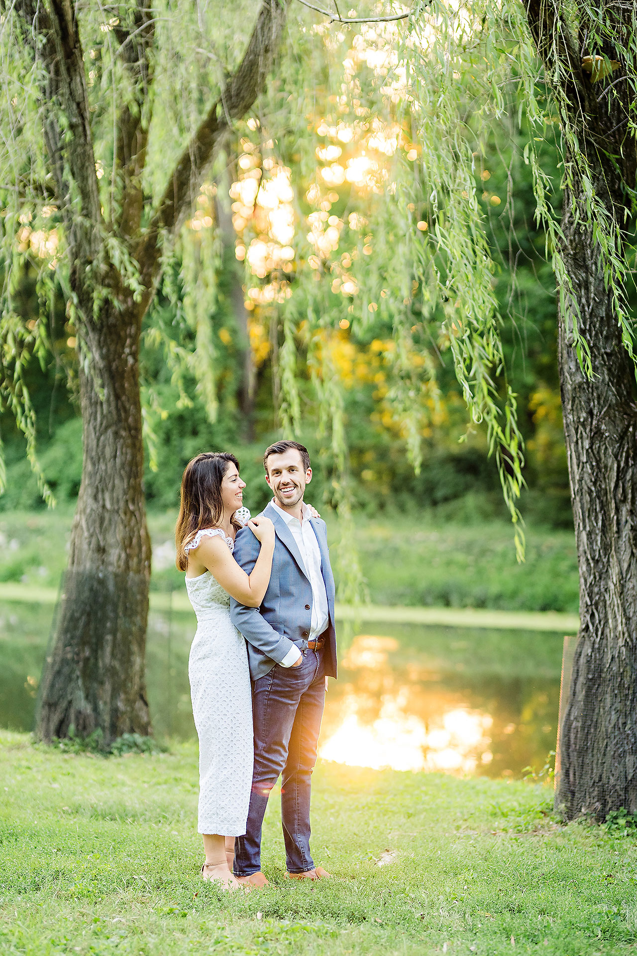 Kate Sawyer Holcomb Gardens Engagement Session 089