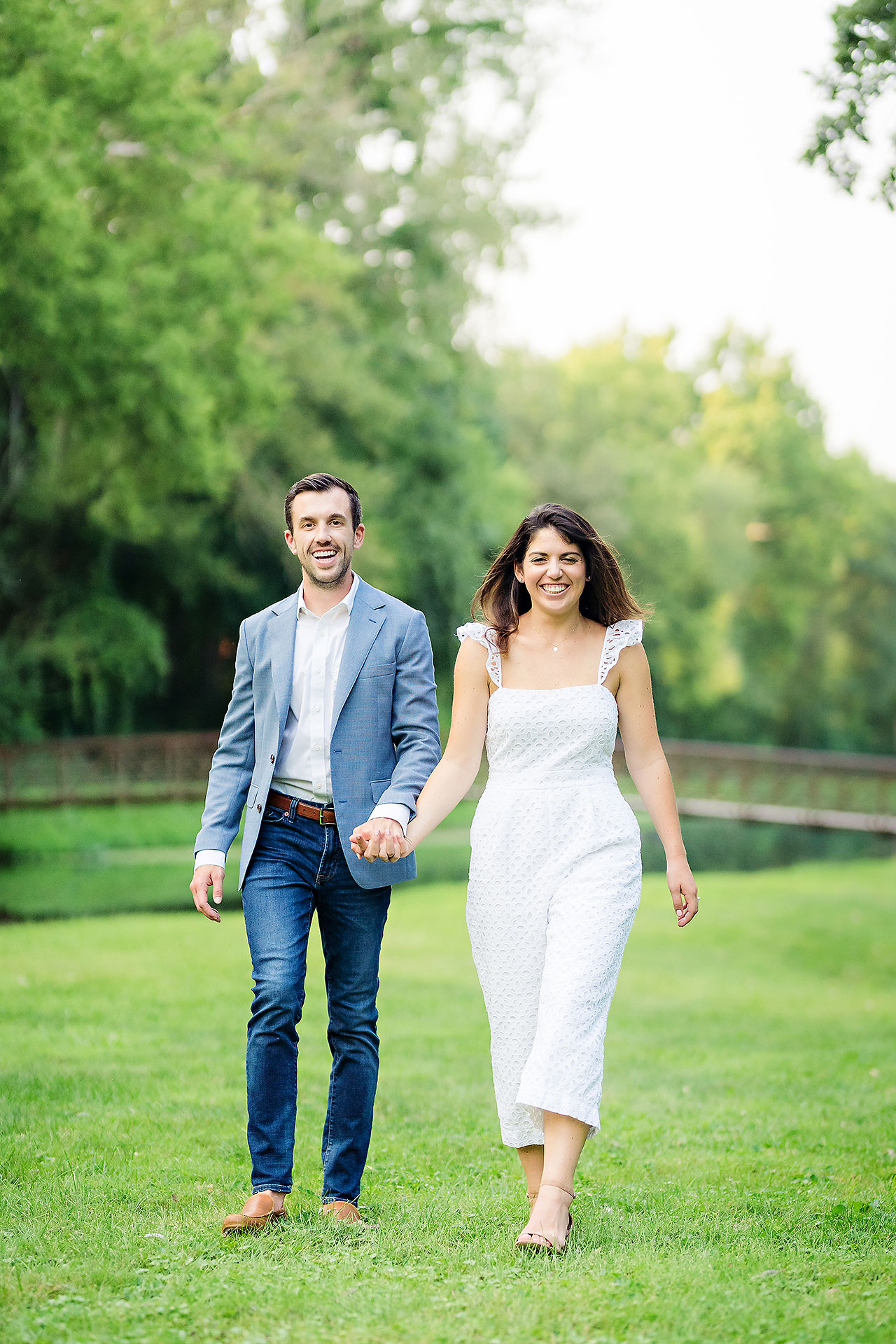 Kate Sawyer Holcomb Gardens Engagement Session 087
