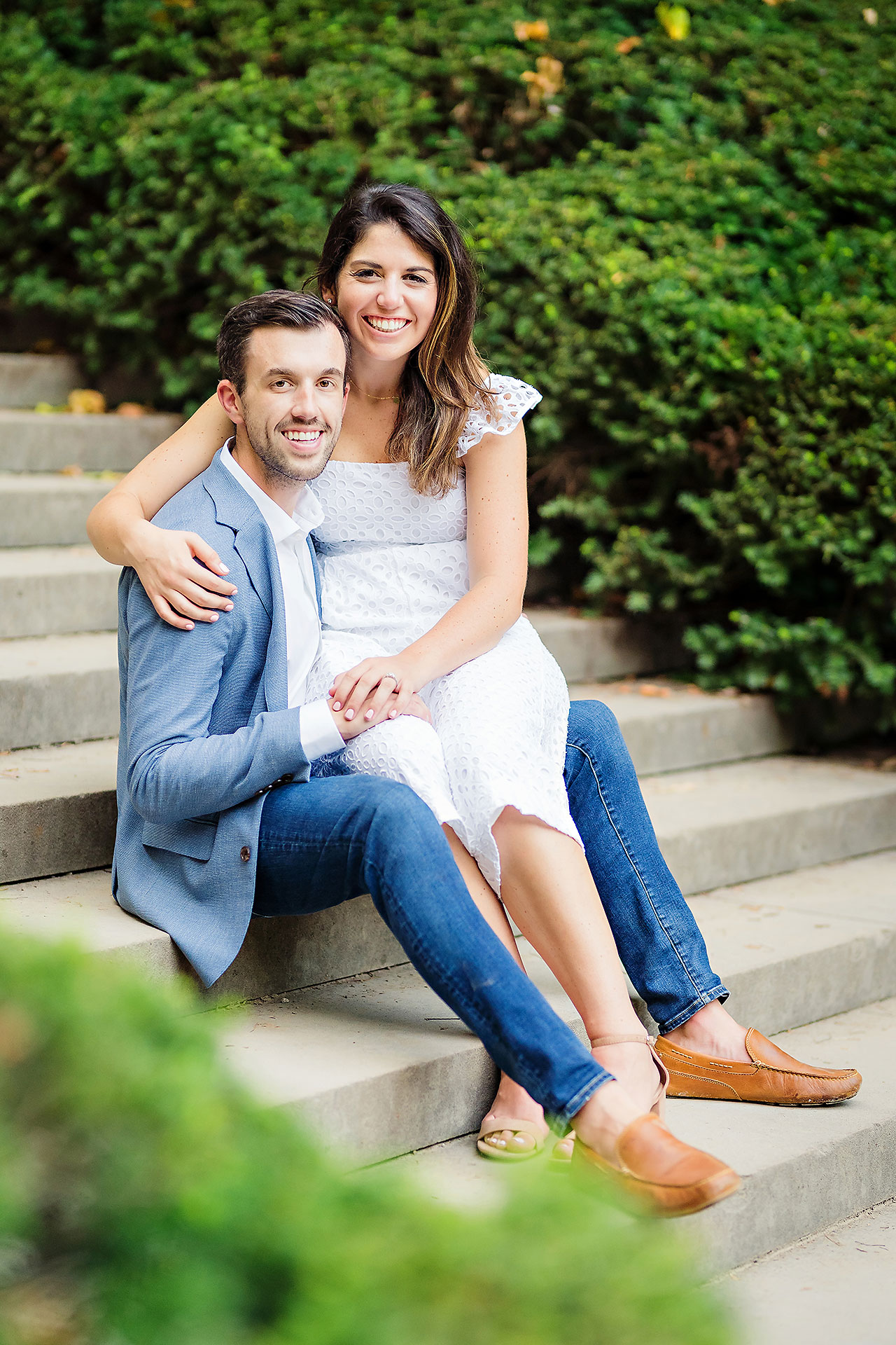 Kate Sawyer Holcomb Gardens Engagement Session 077