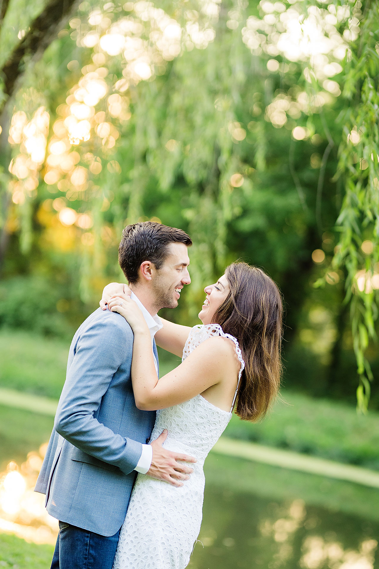 Kate Sawyer Holcomb Gardens Engagement Session 075