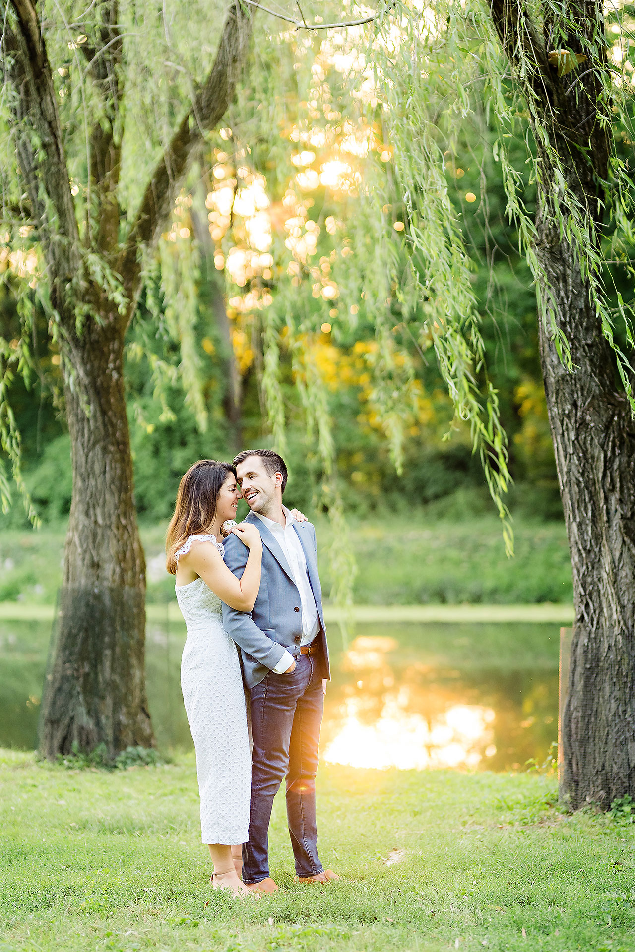 Kate Sawyer Holcomb Gardens Engagement Session 069