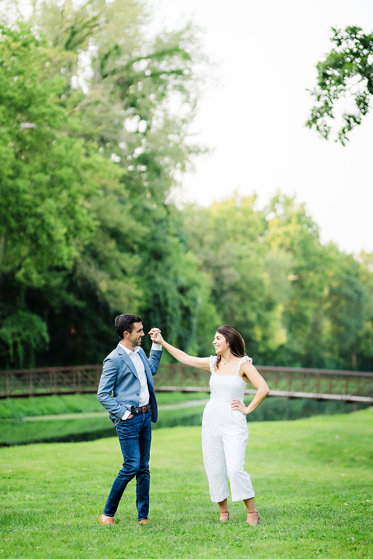 Kate Sawyer Holcomb Gardens Engagement Session 067