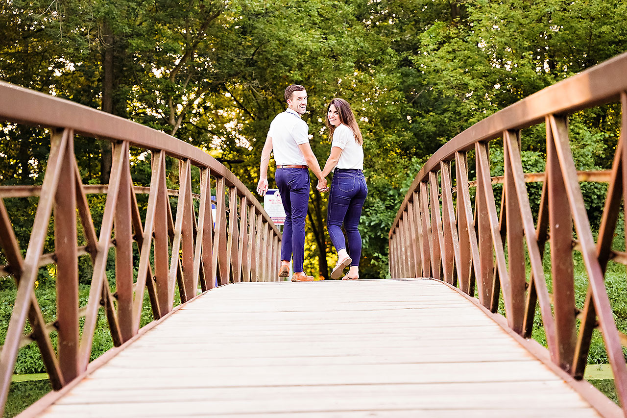 Kate Sawyer Holcomb Gardens Engagement Session 063