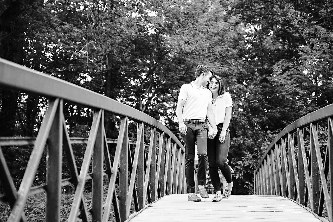 Kate Sawyer Holcomb Gardens Engagement Session 061