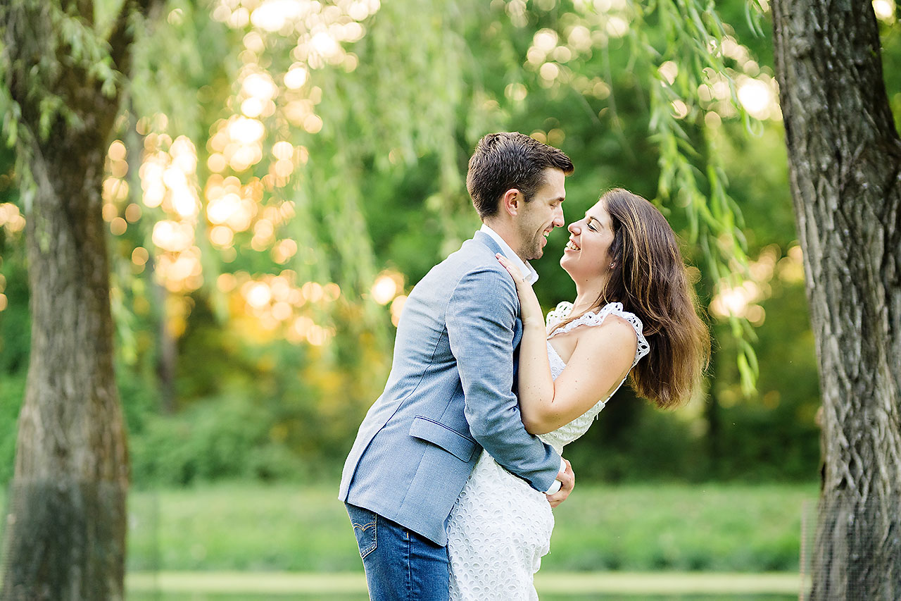 Kate Sawyer Holcomb Gardens Engagement Session 062
