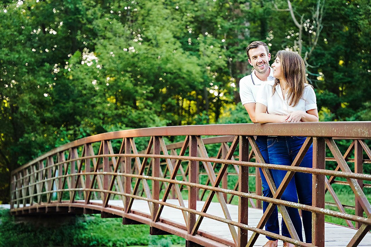 Kate Sawyer Holcomb Gardens Engagement Session 050