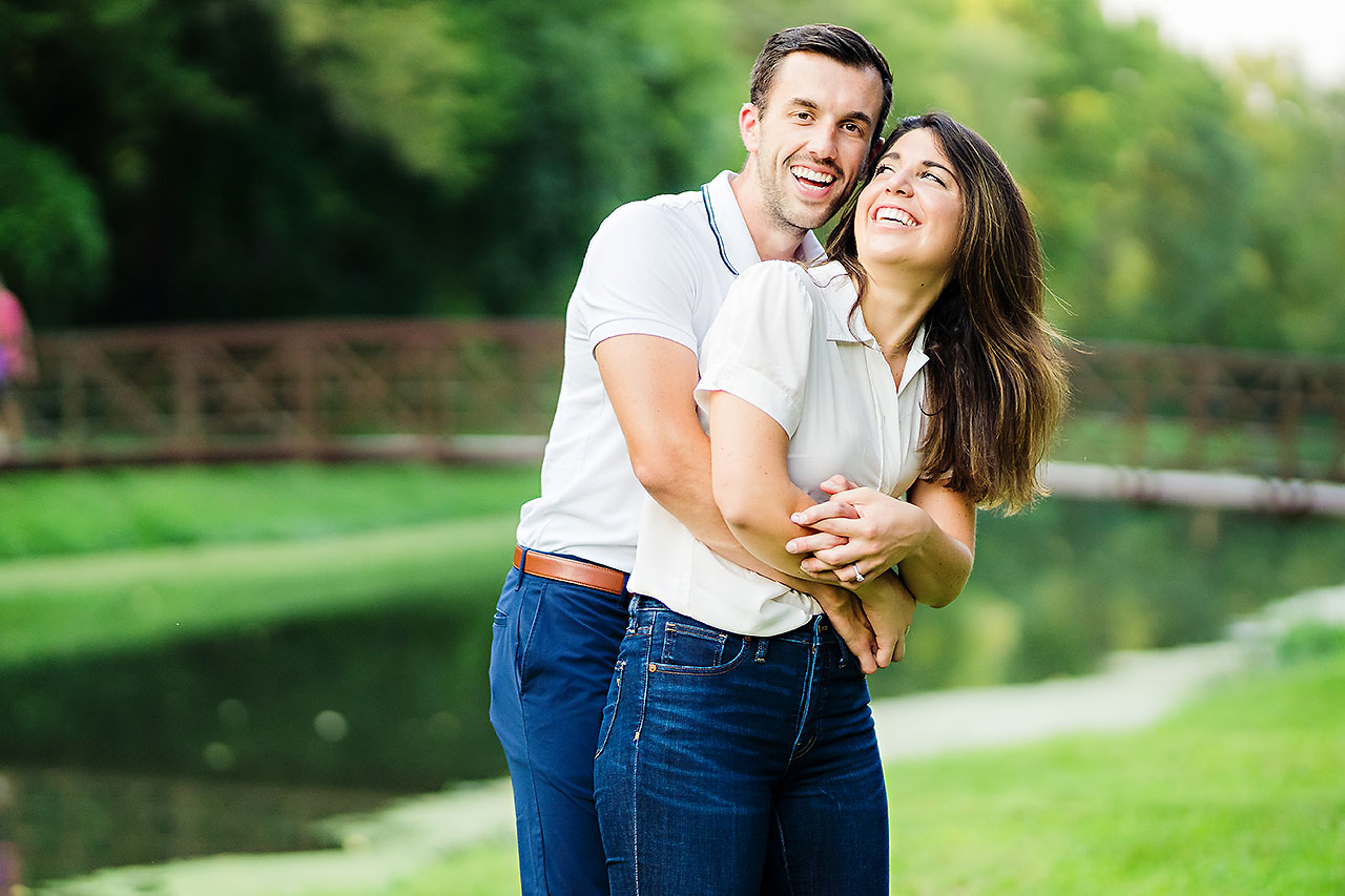 Kate Sawyer Holcomb Gardens Engagement Session 051