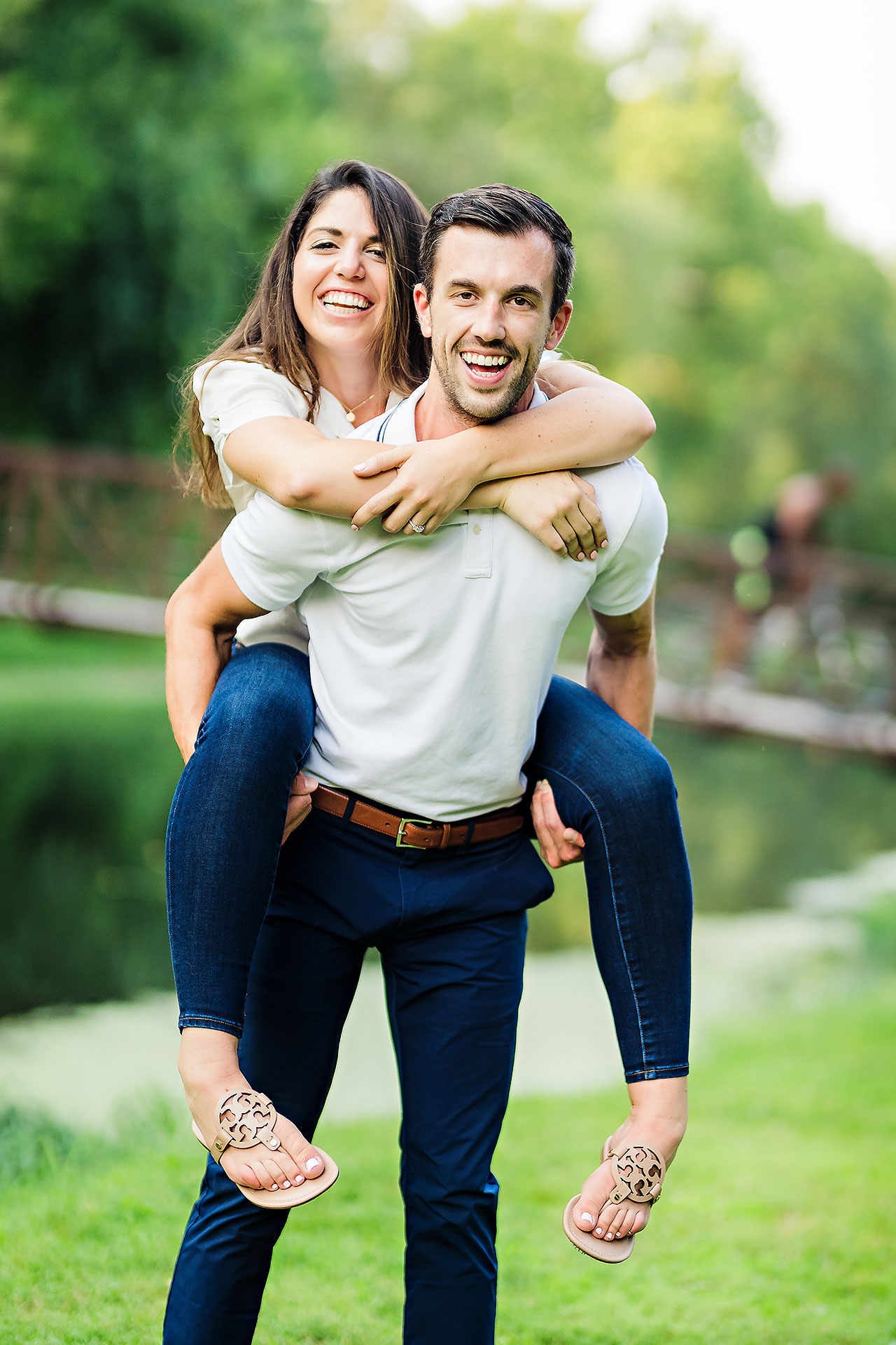 Kate Sawyer Holcomb Gardens Engagement Session 049