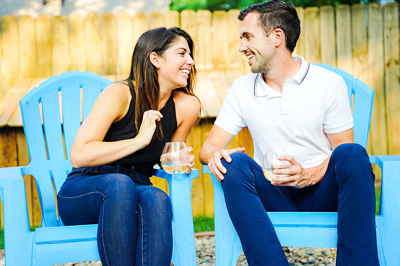 Kate Sawyer Holcomb Gardens Engagement Session 039