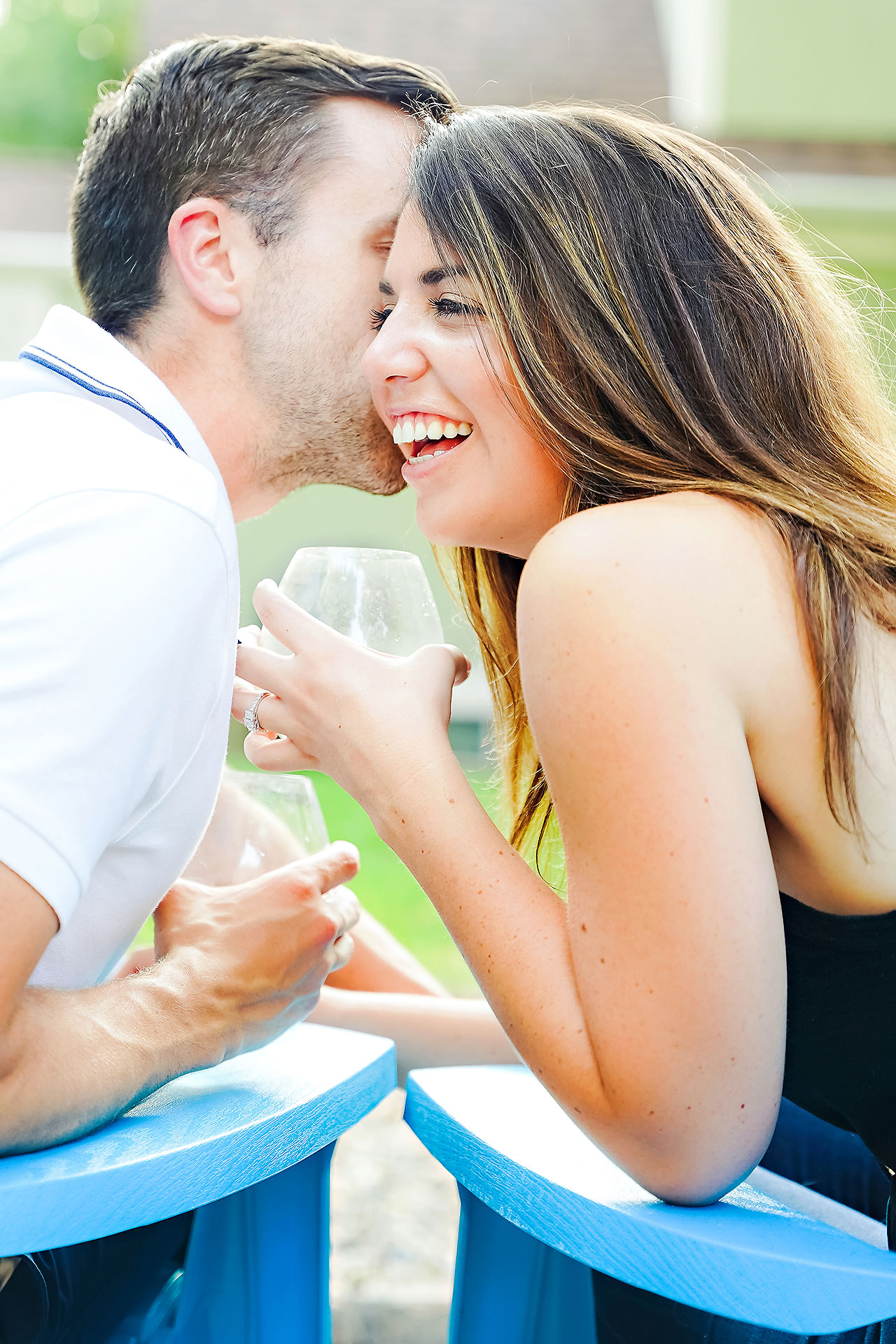 Kate Sawyer Holcomb Gardens Engagement Session 031