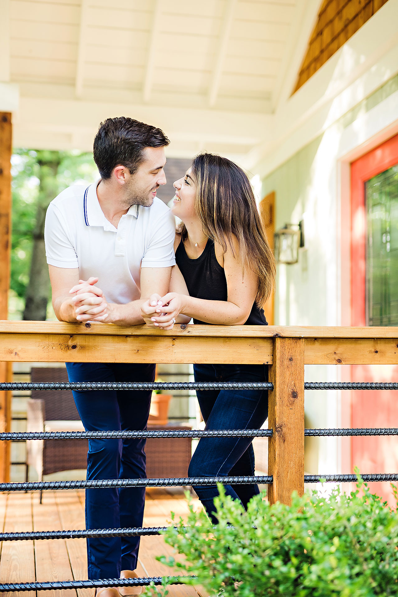 Kate Sawyer Holcomb Gardens Engagement Session 032