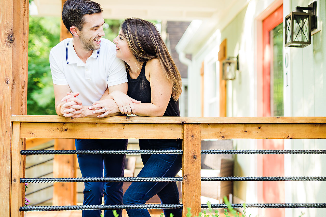 Kate Sawyer Holcomb Gardens Engagement Session 026
