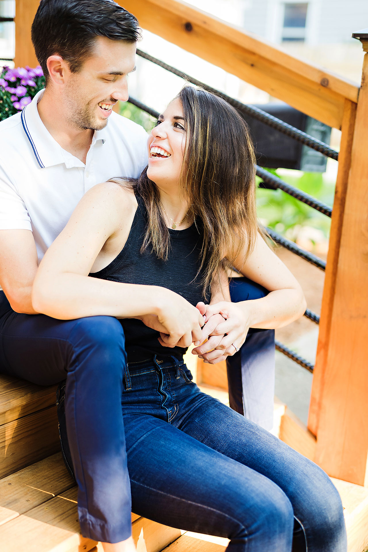 Kate Sawyer Holcomb Gardens Engagement Session 013