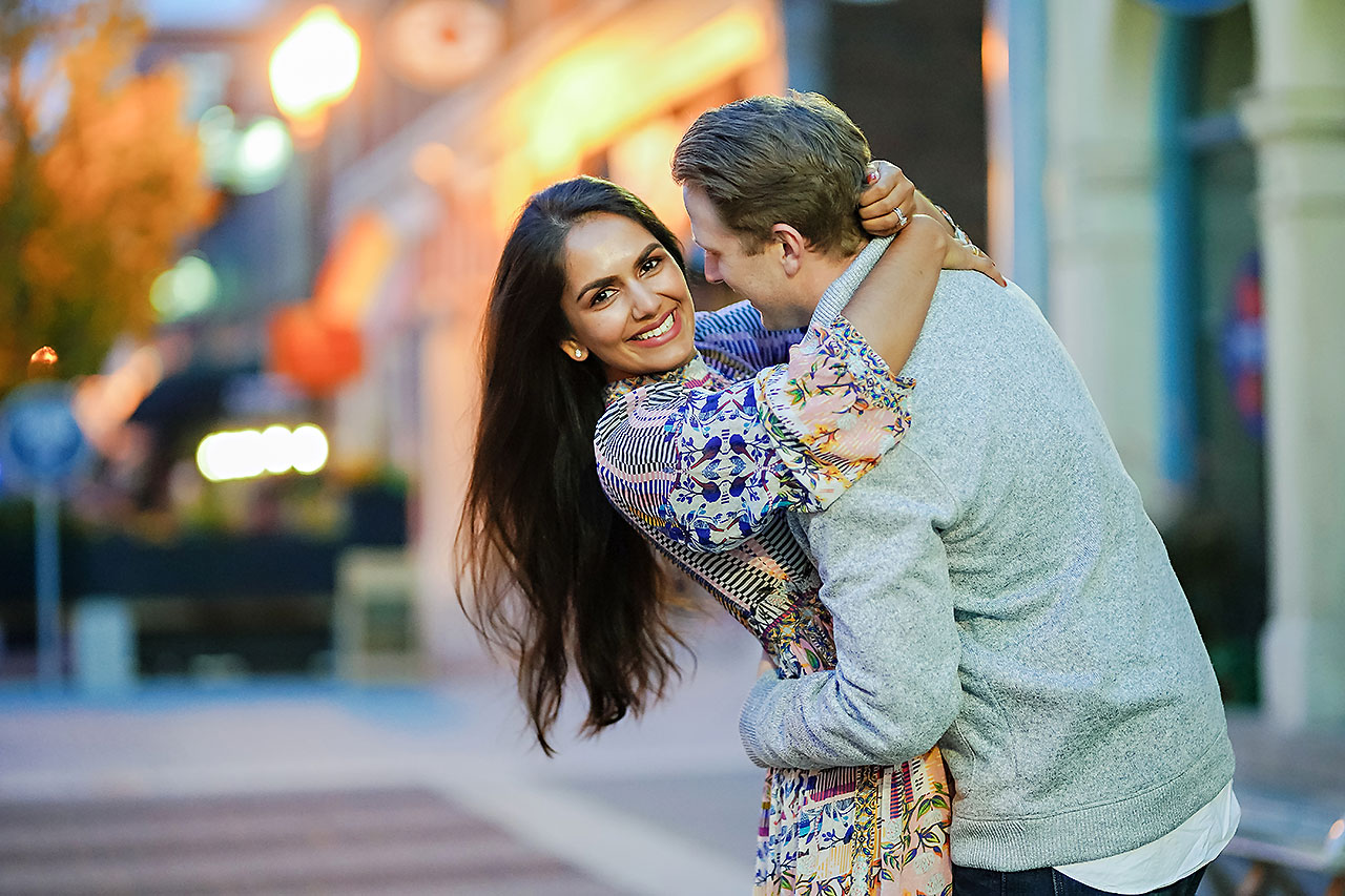 Nadia Parker Downtown Indy Engagement Session217