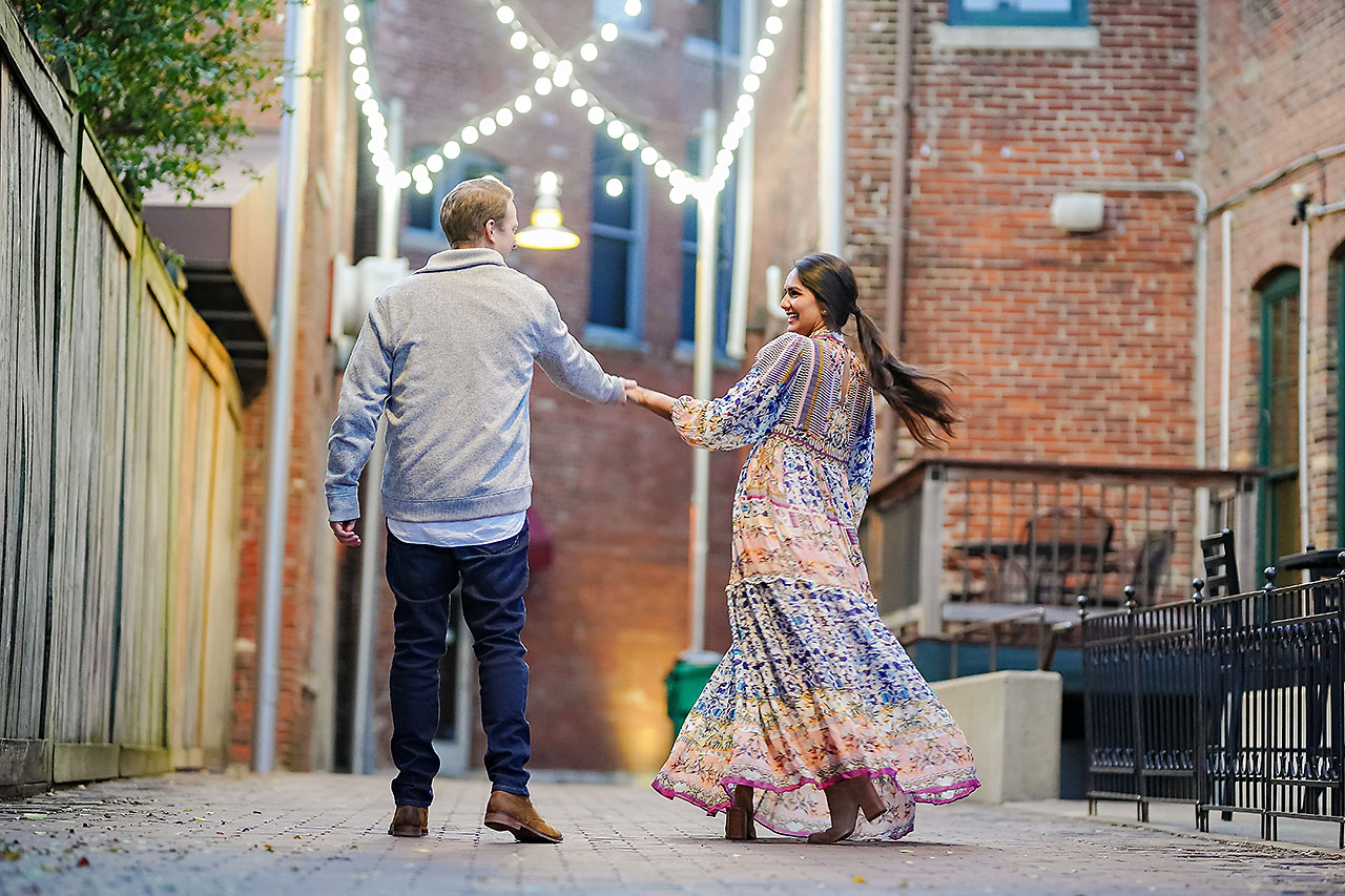 Nadia Parker Downtown Indy Engagement Session212