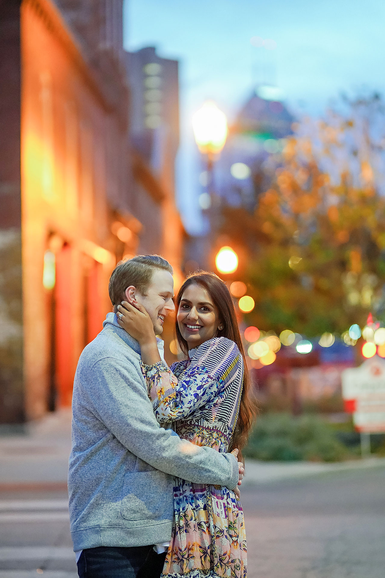Nadia Parker Downtown Indy Engagement Session210
