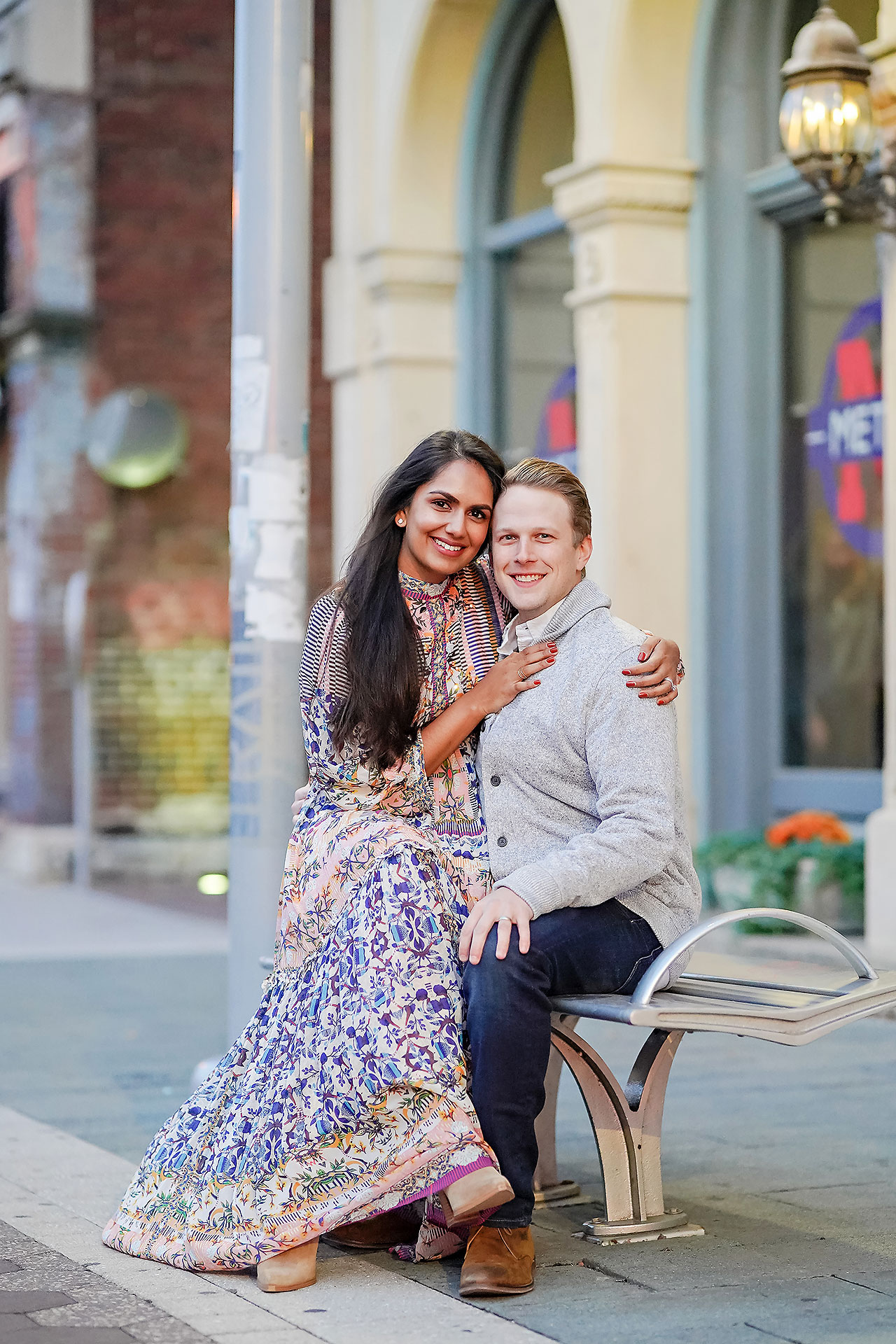 Nadia Parker Downtown Indy Engagement Session205