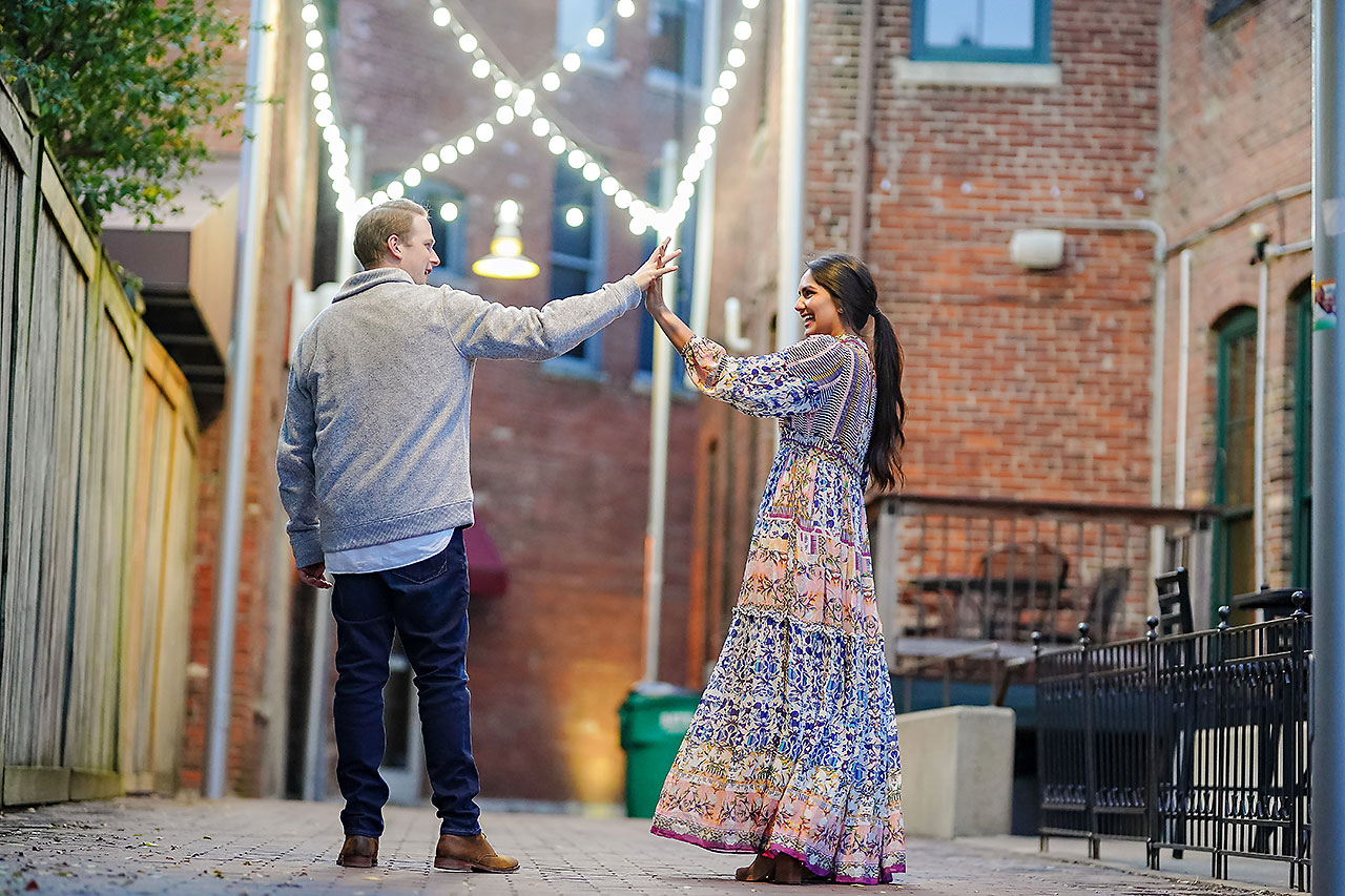 Nadia Parker Downtown Indy Engagement Session203