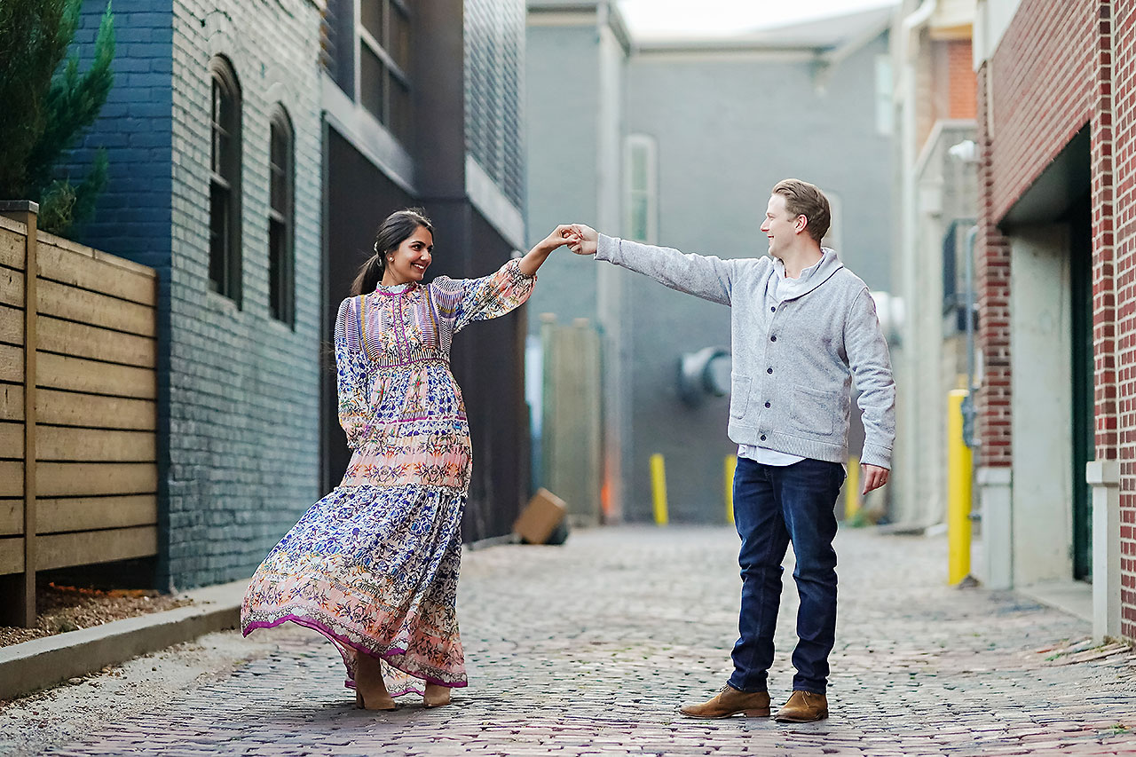 Nadia Parker Downtown Indy Engagement Session200