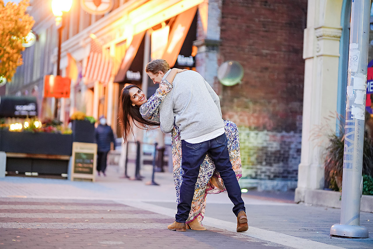 Nadia Parker Downtown Indy Engagement Session198