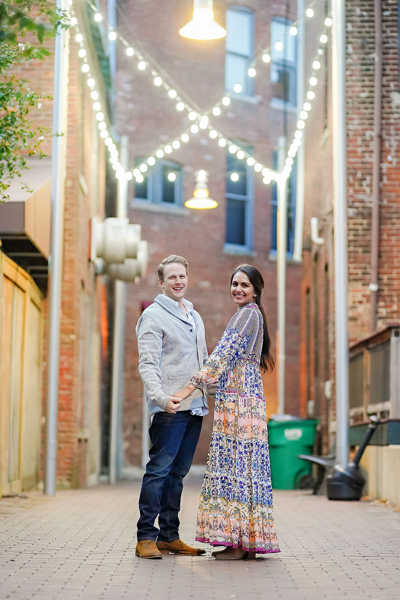 Nadia Parker Downtown Indy Engagement Session196