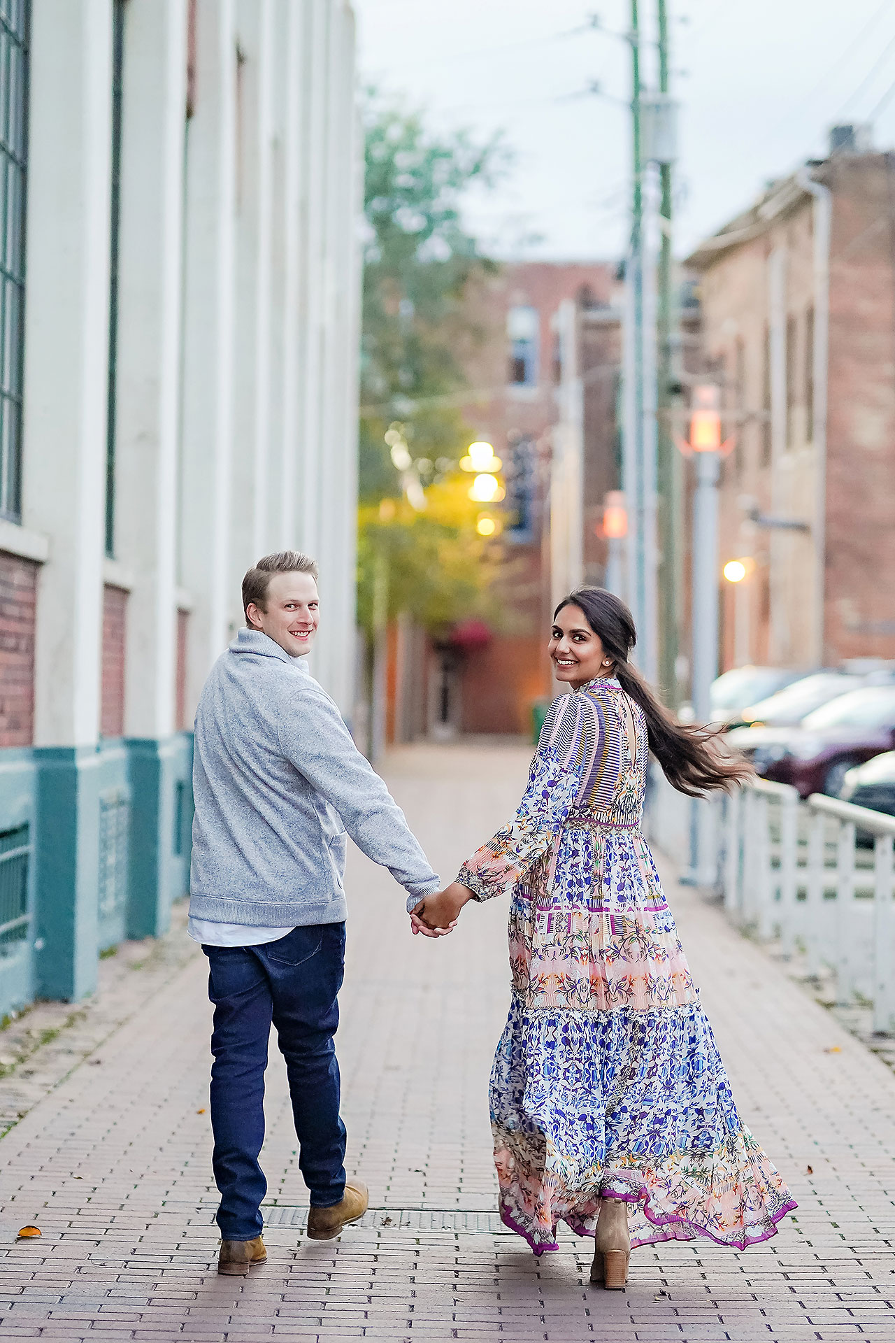 Nadia Parker Downtown Indy Engagement Session190