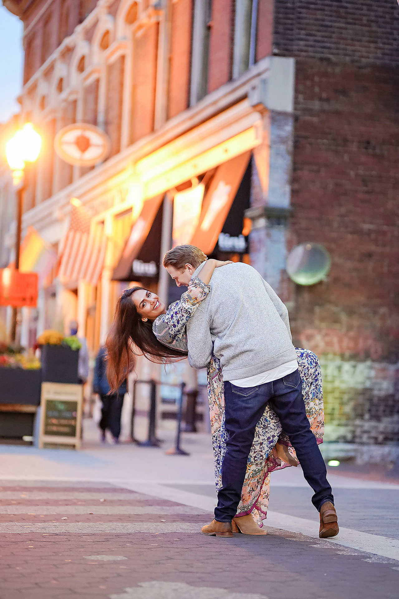 Nadia Parker Downtown Indy Engagement Session191