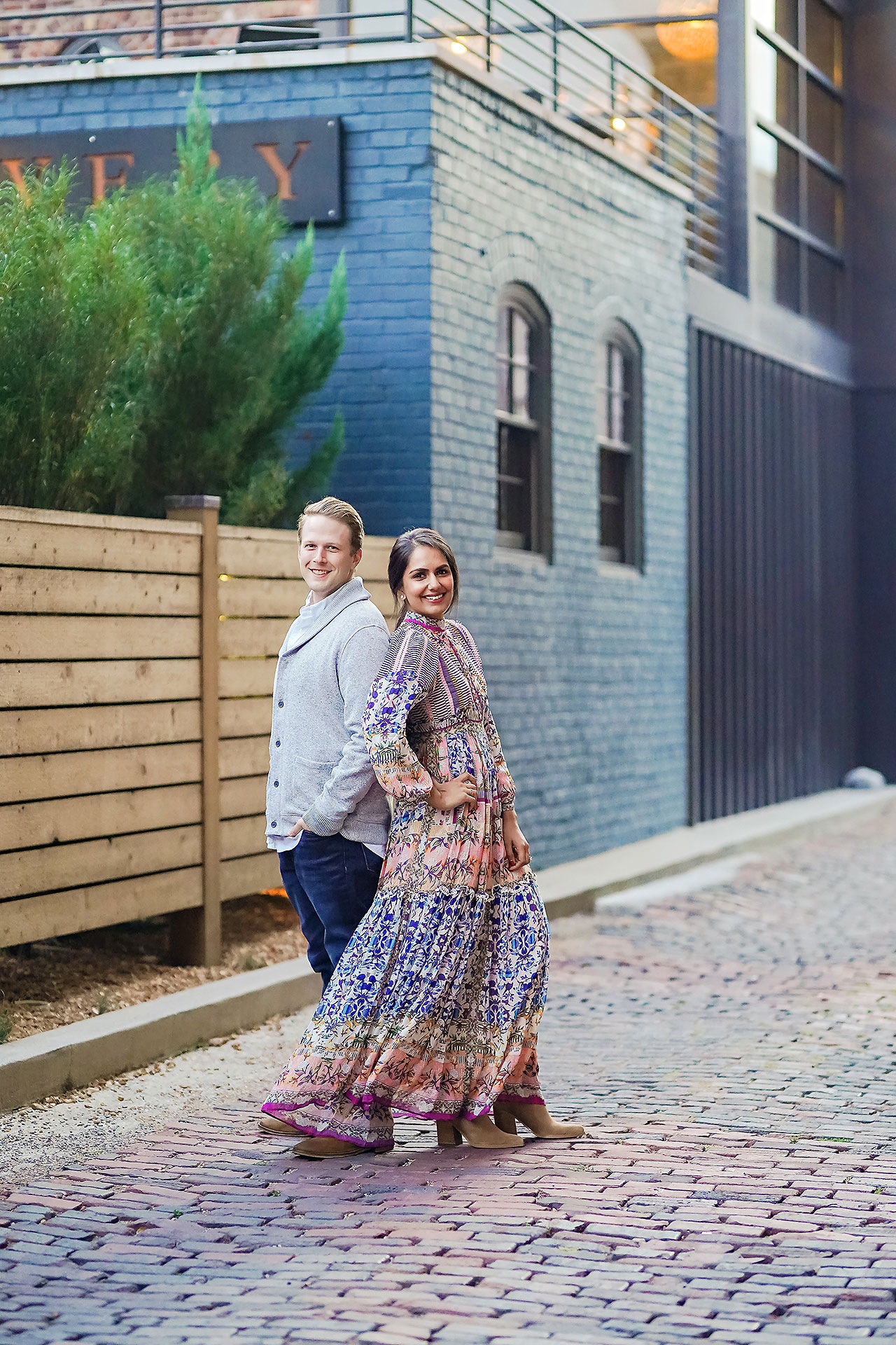 Nadia Parker Downtown Indy Engagement Session188