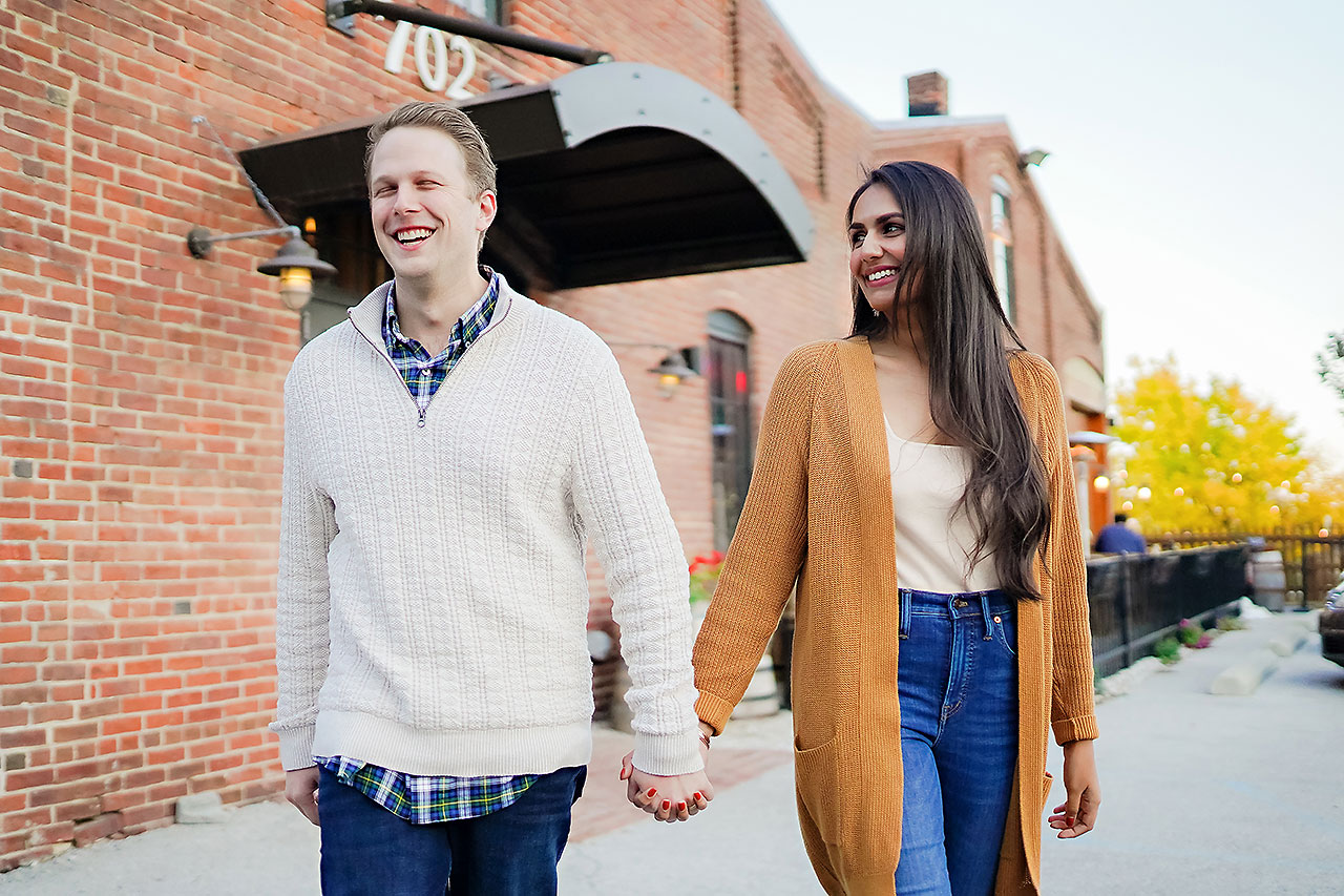 Nadia Parker Downtown Indy Engagement Session184