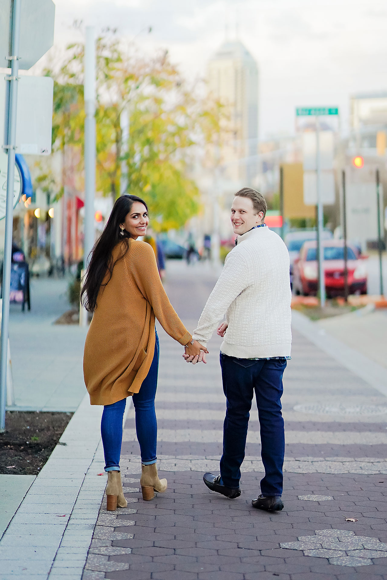 Nadia Parker Downtown Indy Engagement Session182