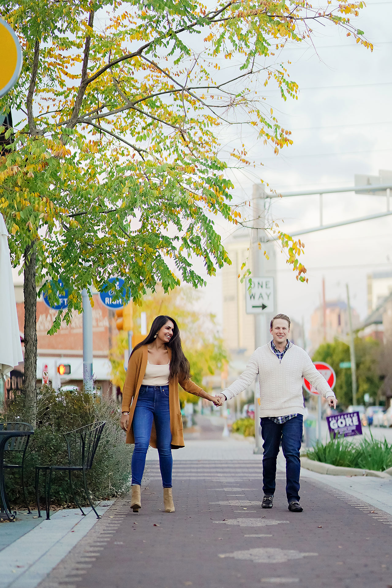 Nadia Parker Downtown Indy Engagement Session180