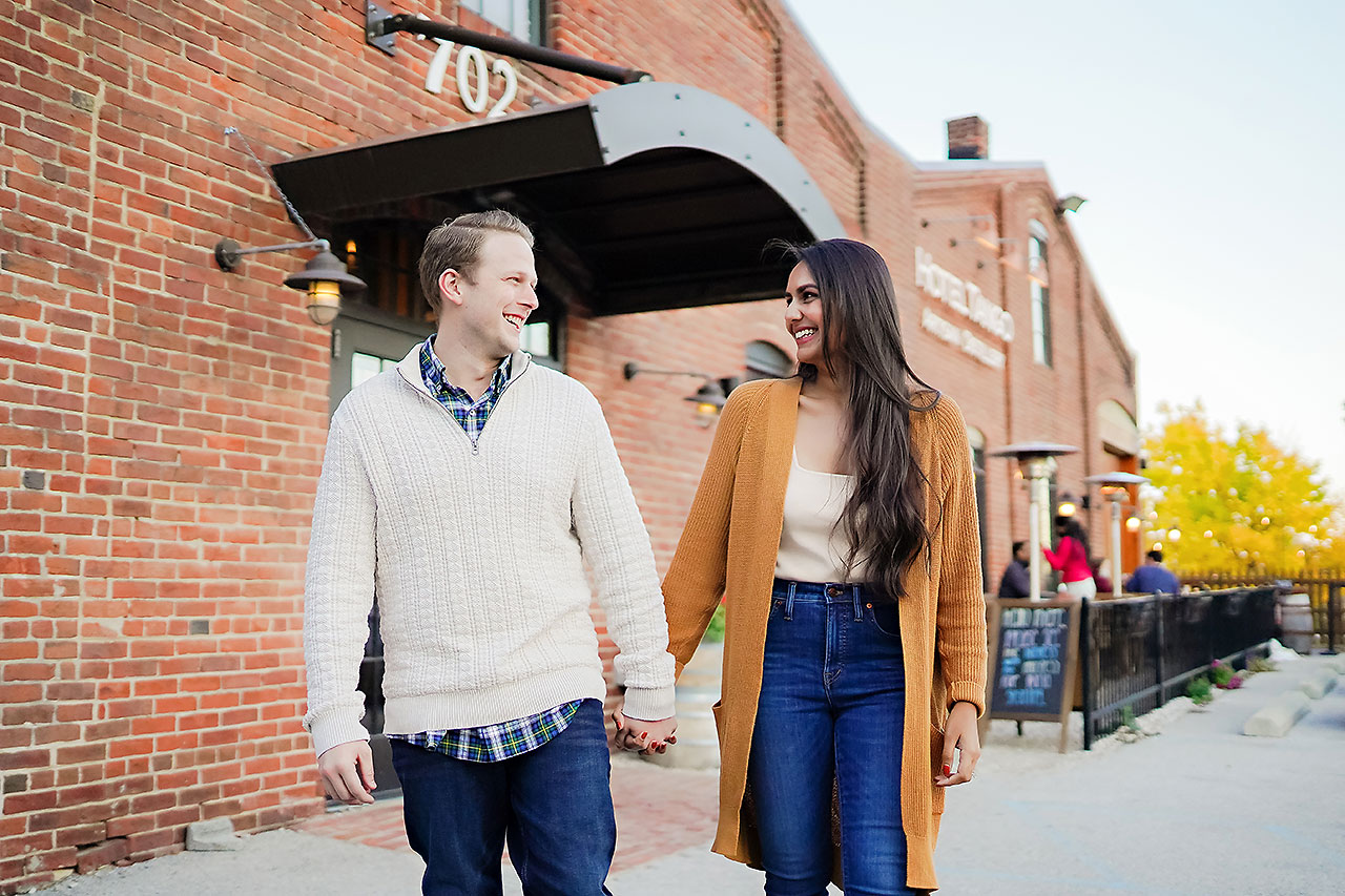 Nadia Parker Downtown Indy Engagement Session173