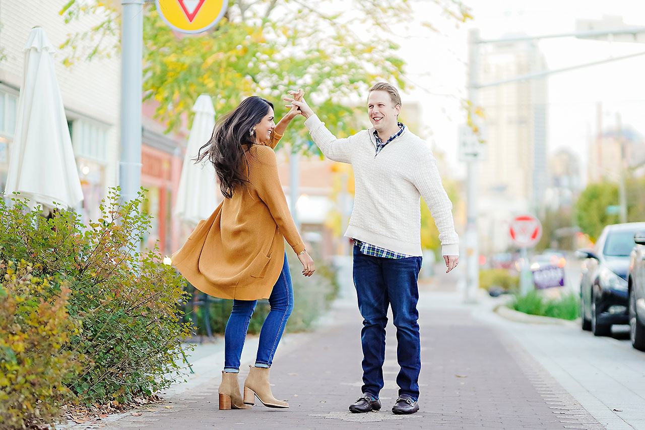Nadia Parker Downtown Indy Engagement Session171