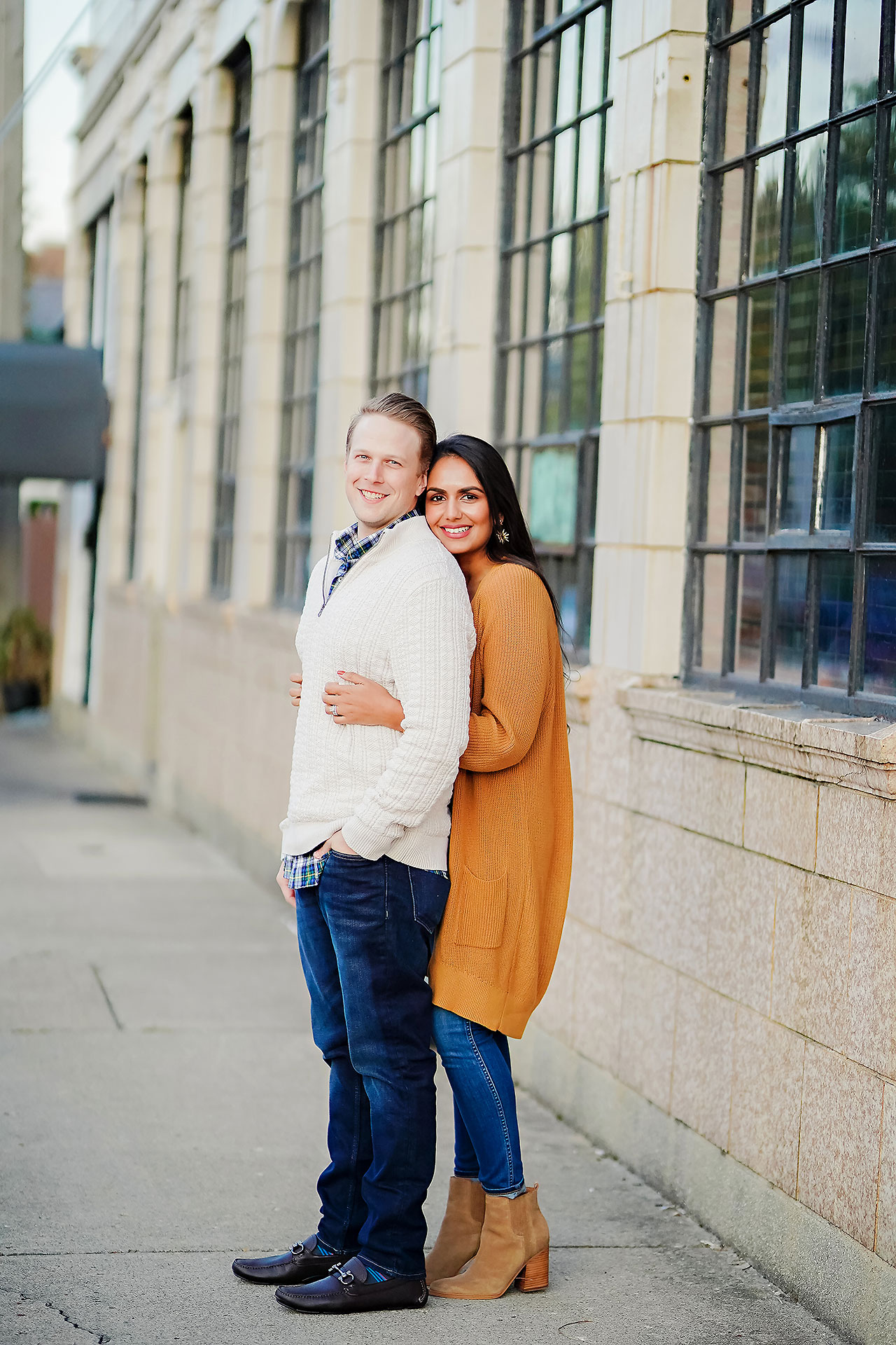 Nadia Parker Downtown Indy Engagement Session165