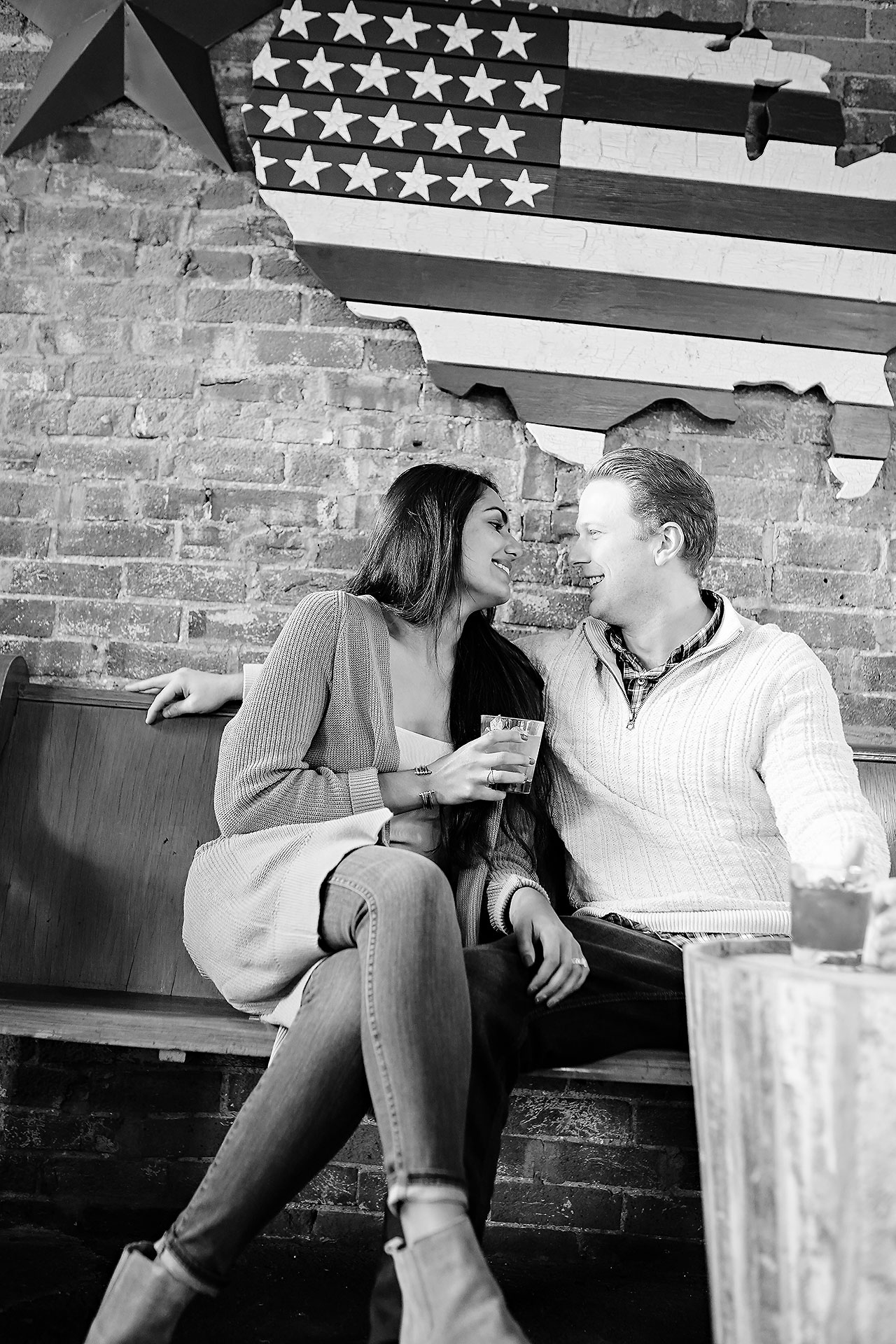 Nadia Parker Downtown Indy Engagement Session163
