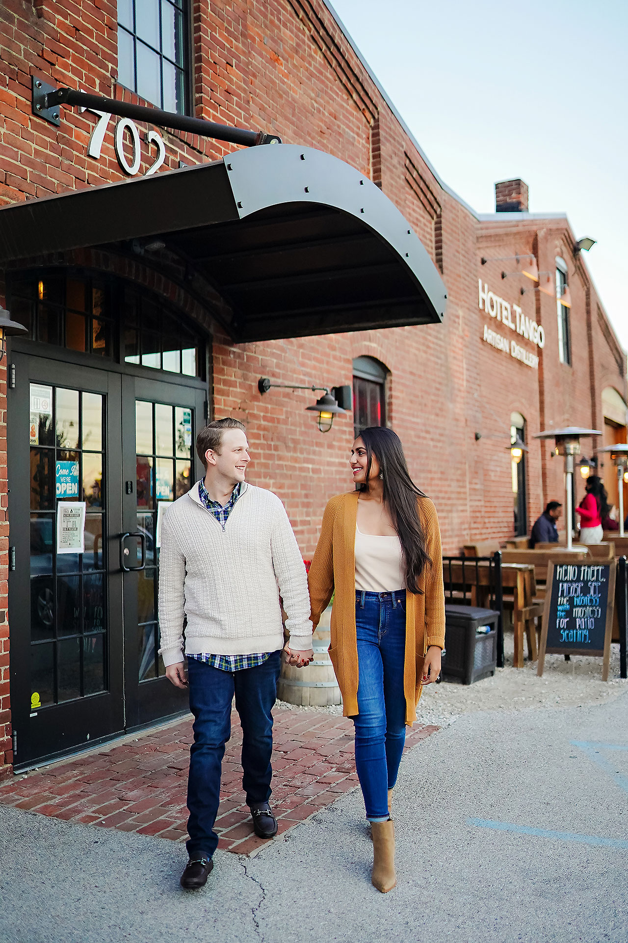 Nadia Parker Downtown Indy Engagement Session161