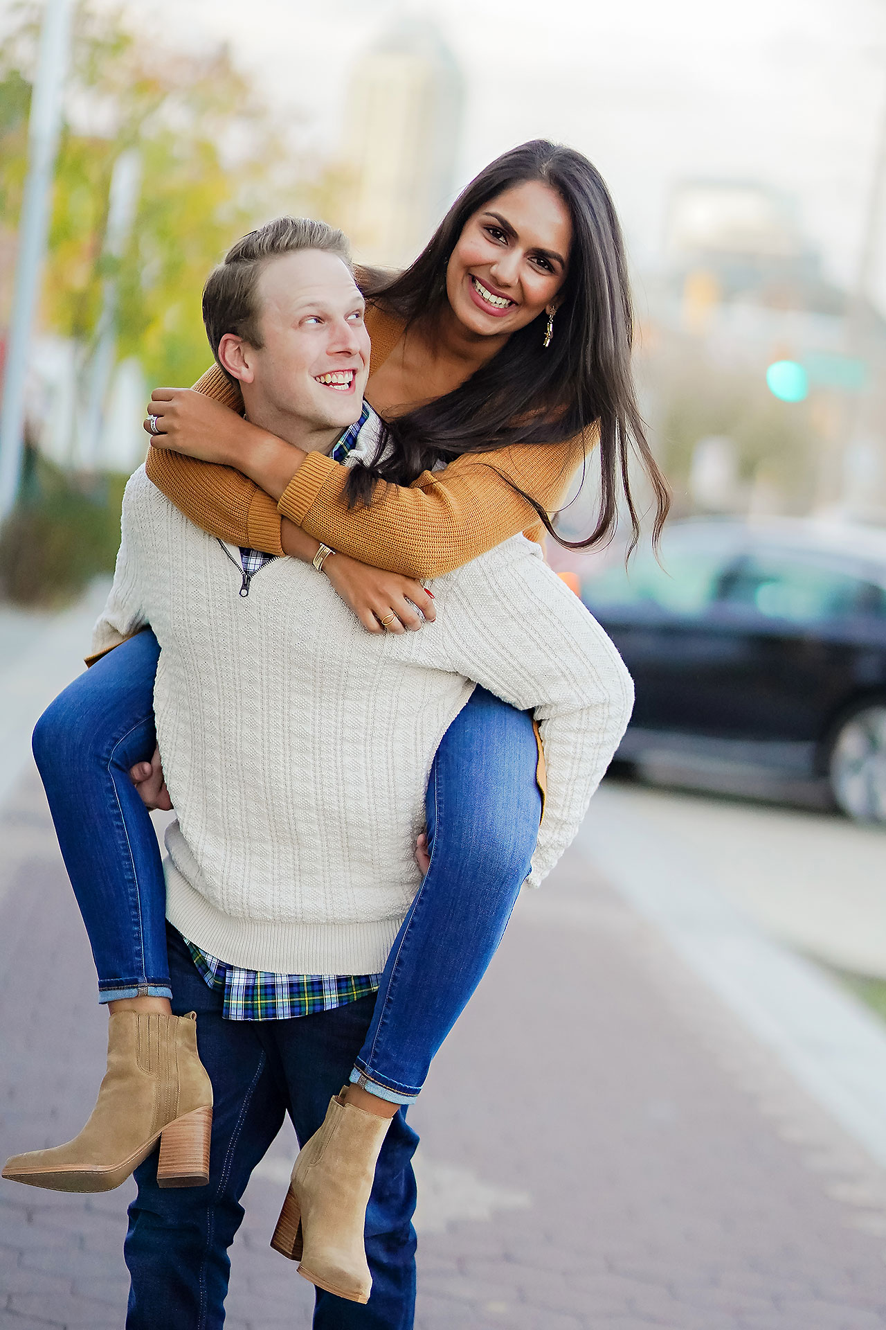 Nadia Parker Downtown Indy Engagement Session162