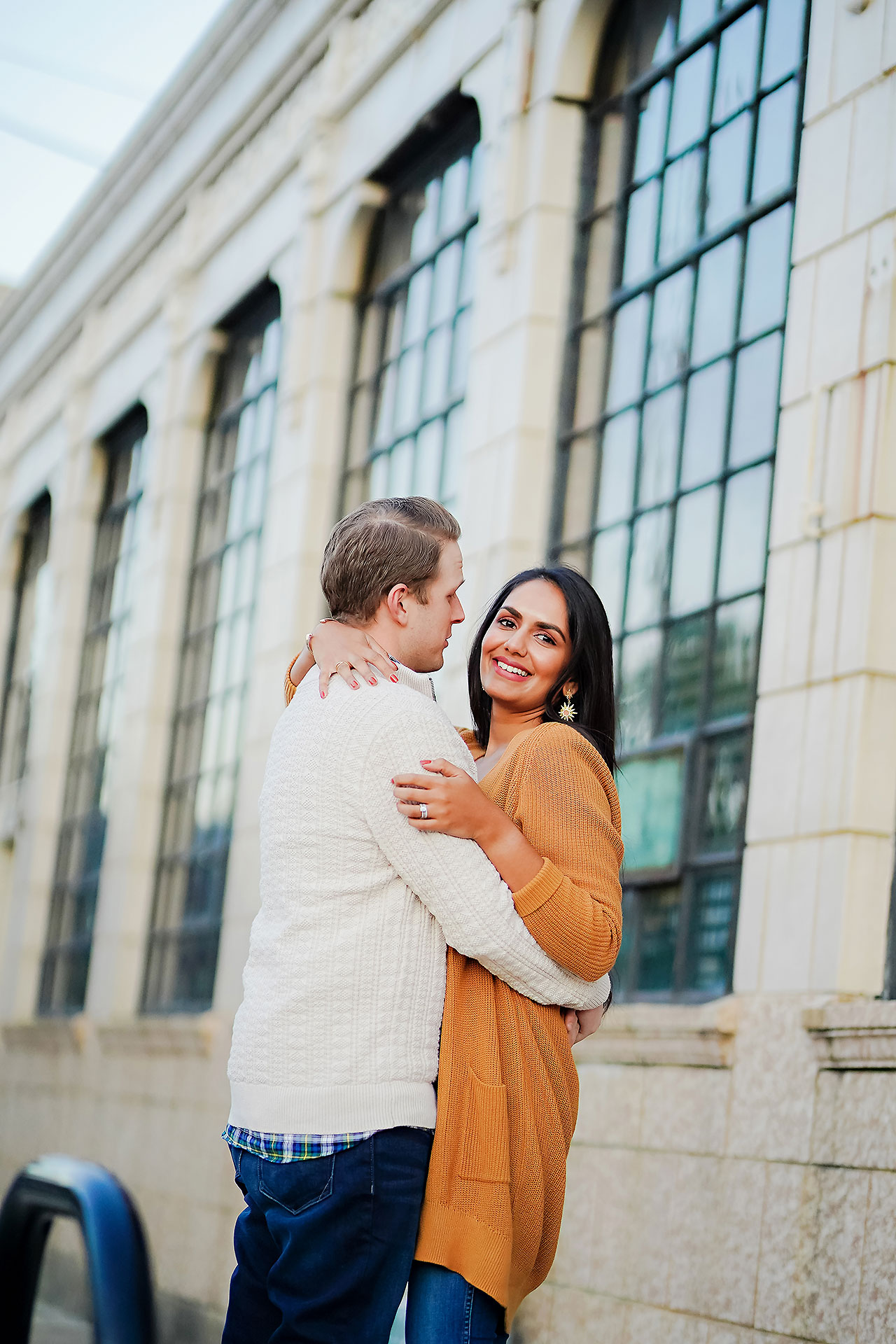 Nadia Parker Downtown Indy Engagement Session158