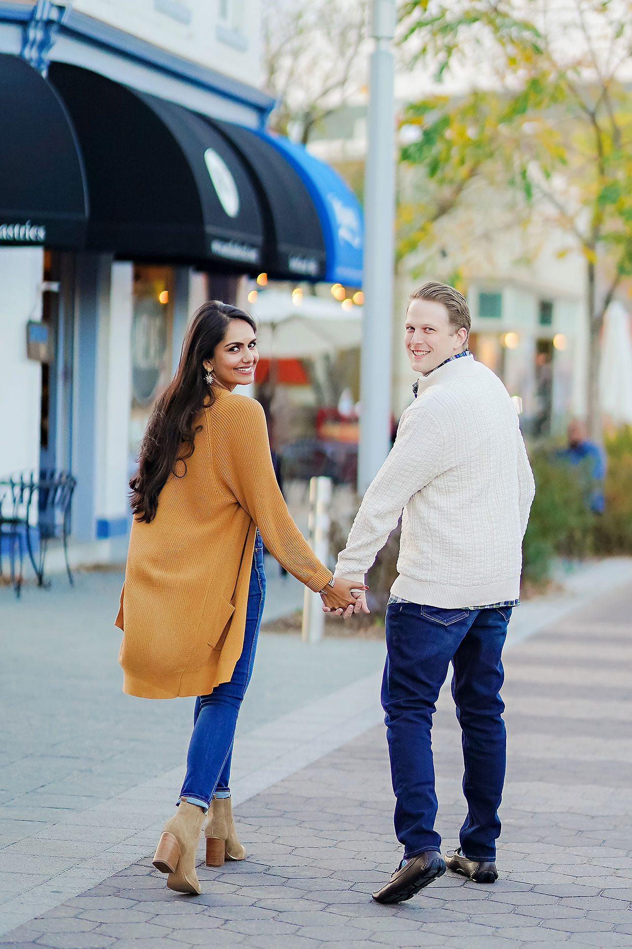 Nadia Parker Downtown Indy Engagement Session157