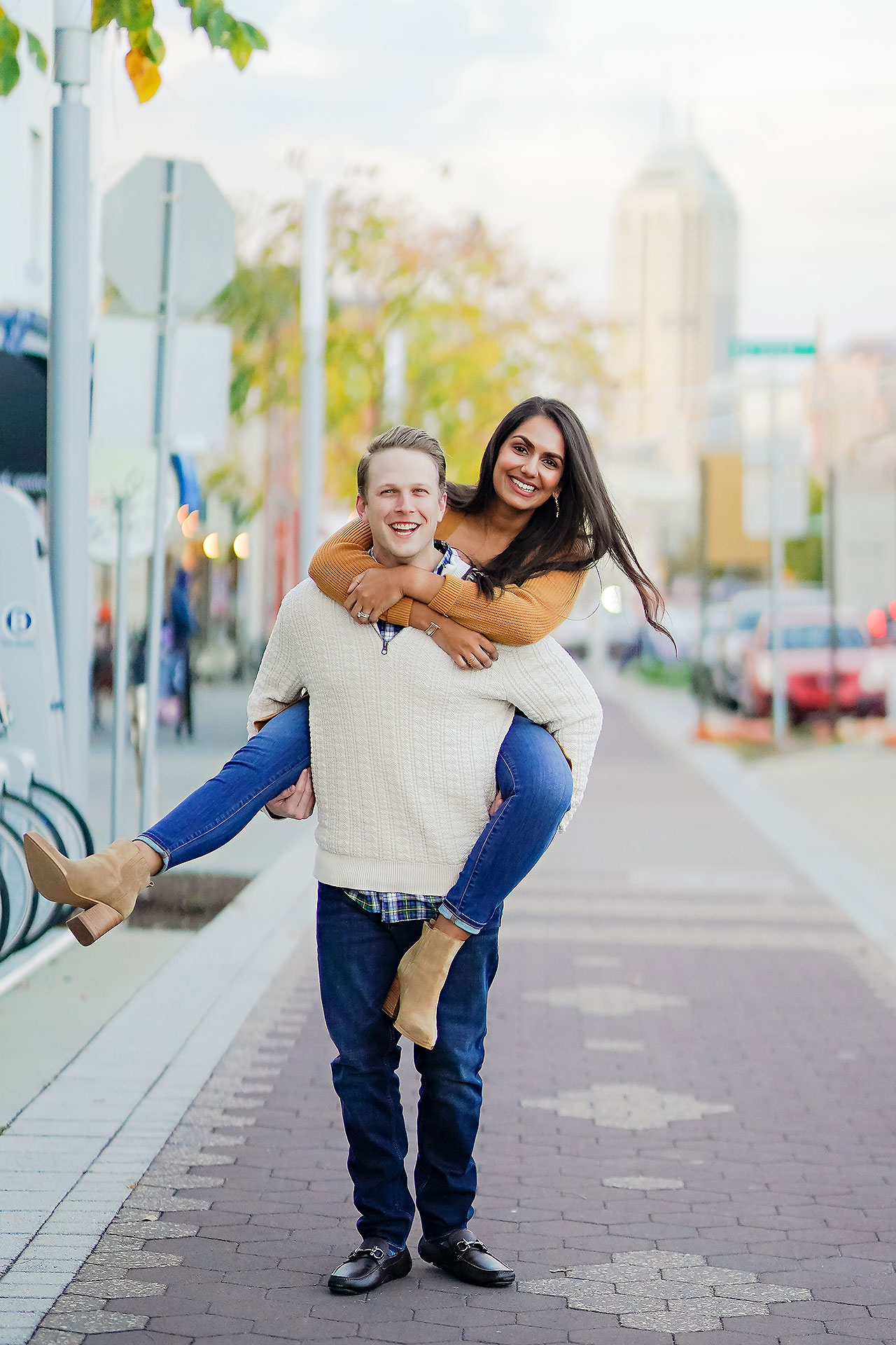 Nadia Parker Downtown Indy Engagement Session155