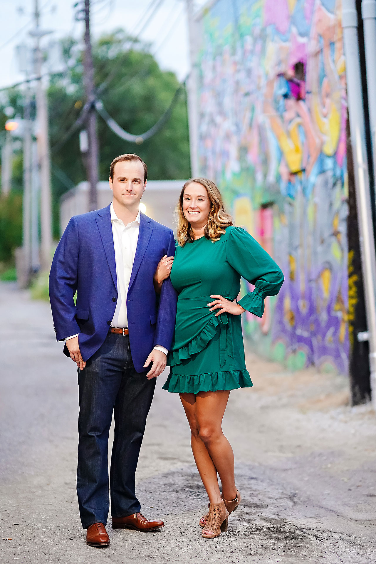 Maddie Zach Broad Ripple Engagement Session 108