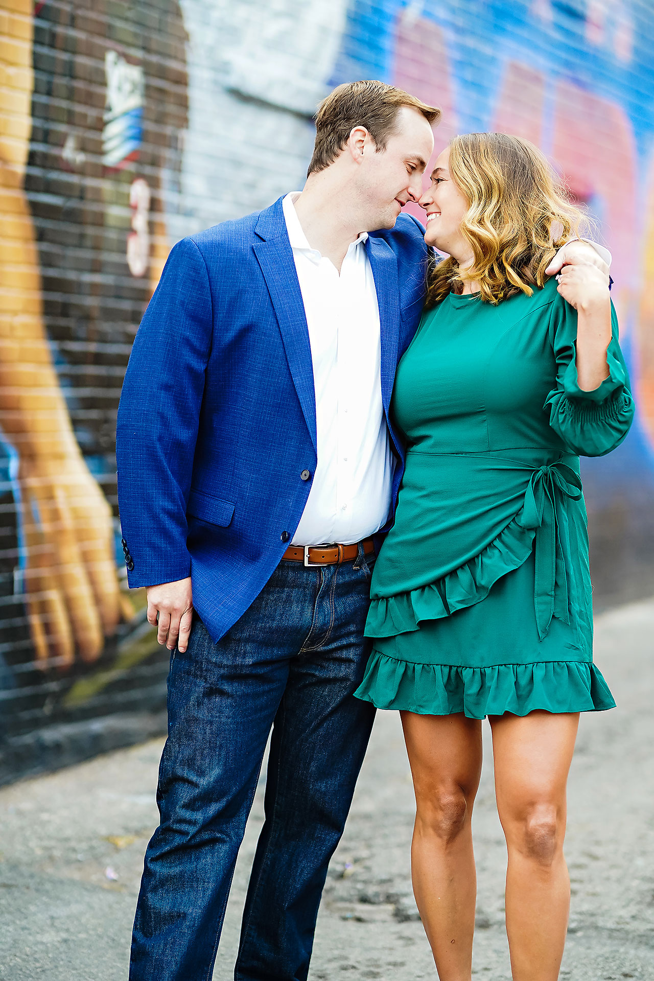 Maddie Zach Broad Ripple Engagement Session 104