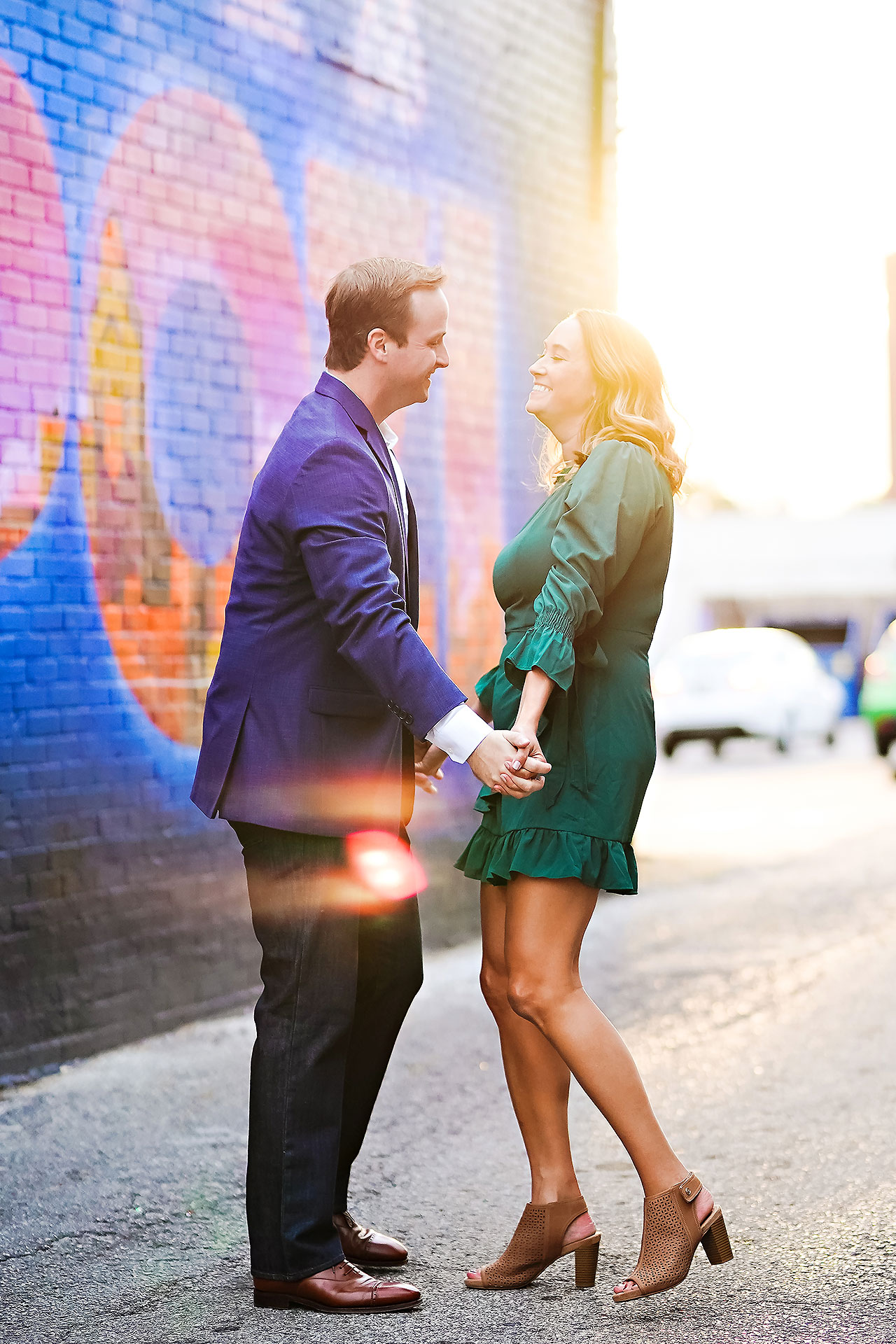 Maddie Zach Broad Ripple Engagement Session 098