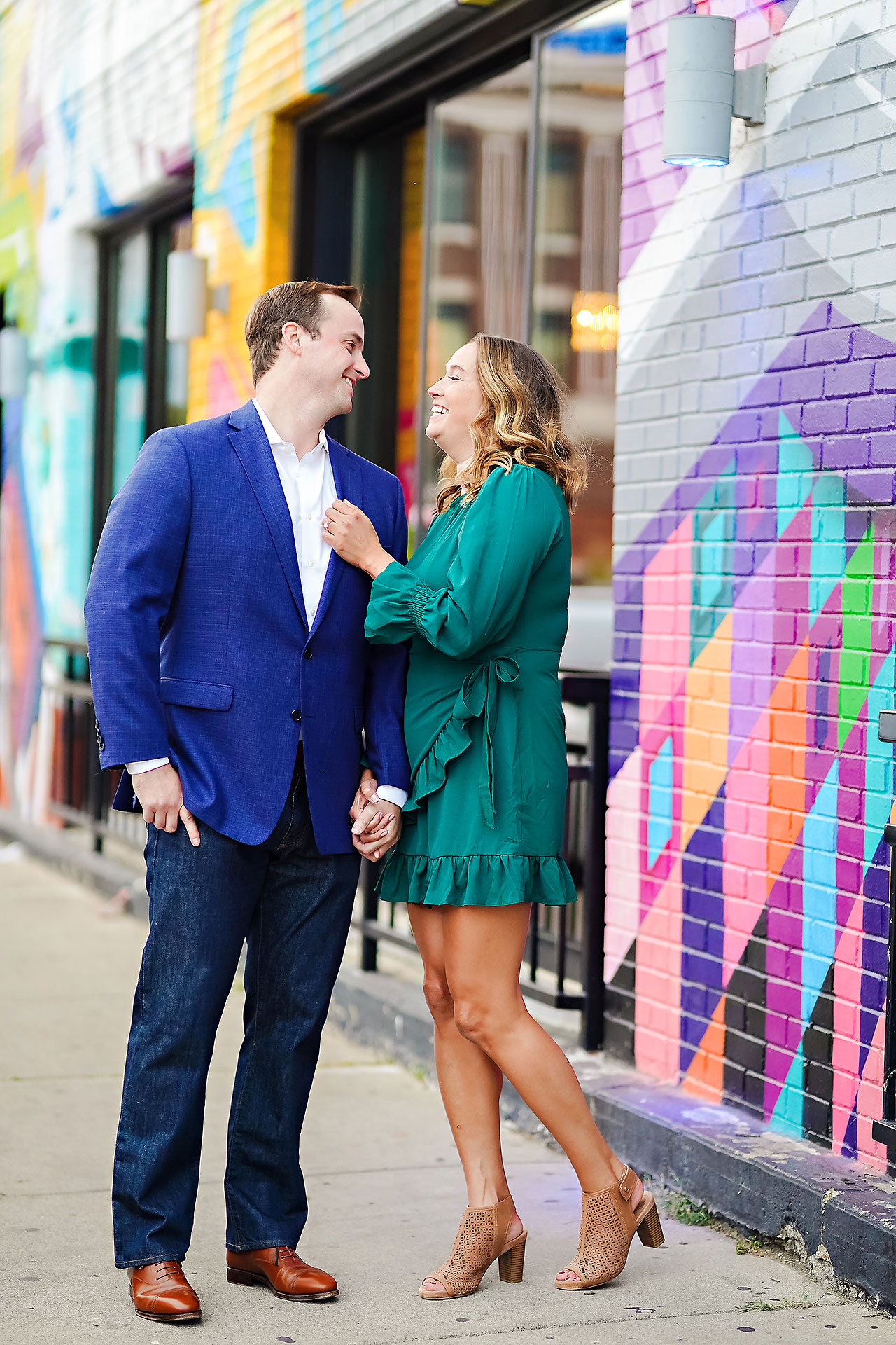 Maddie Zach Broad Ripple Engagement Session 089