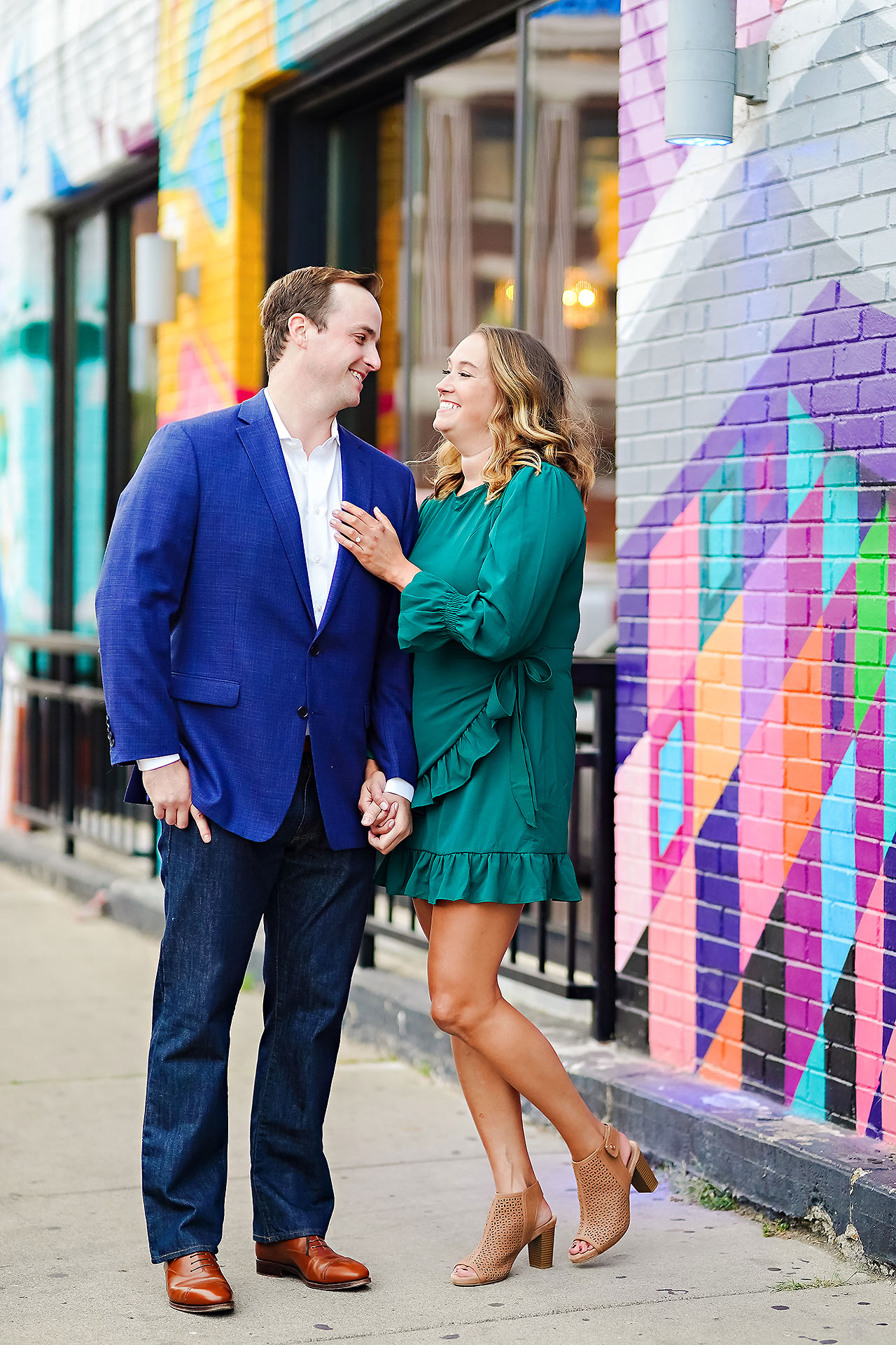 Maddie Zach Broad Ripple Engagement Session 086