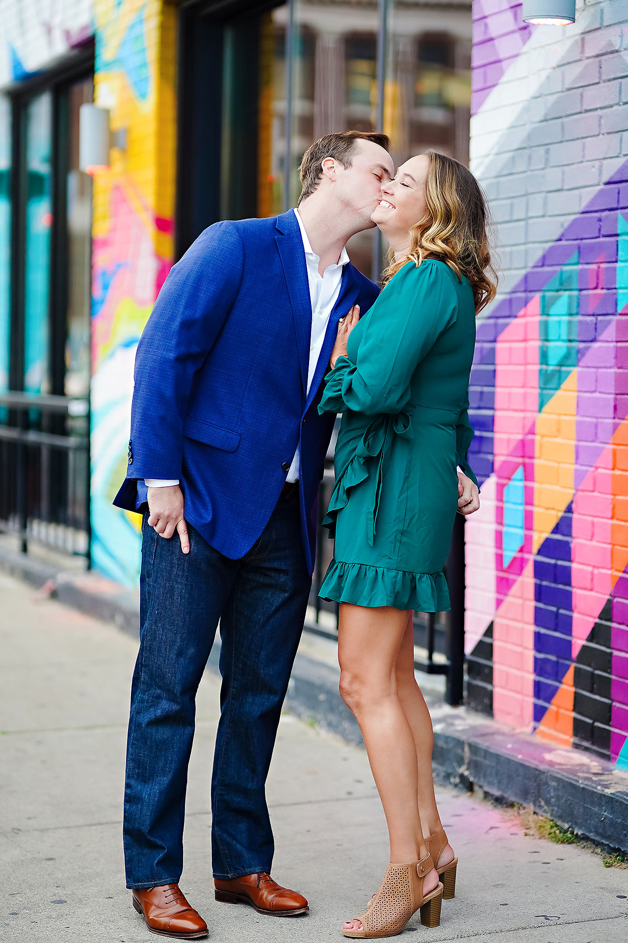 Maddie Zach Broad Ripple Engagement Session 079