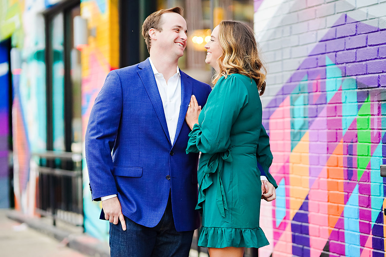 Maddie Zach Broad Ripple Engagement Session 069