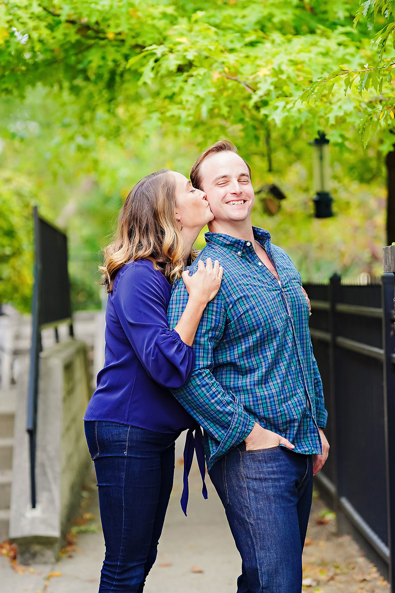 Maddie Zach Broad Ripple Engagement Session 060